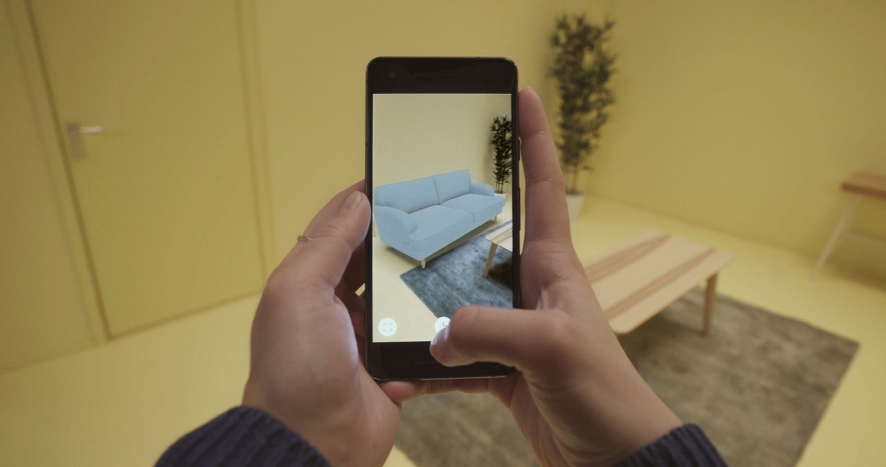 IKEA:s AR-app ute nu till Android