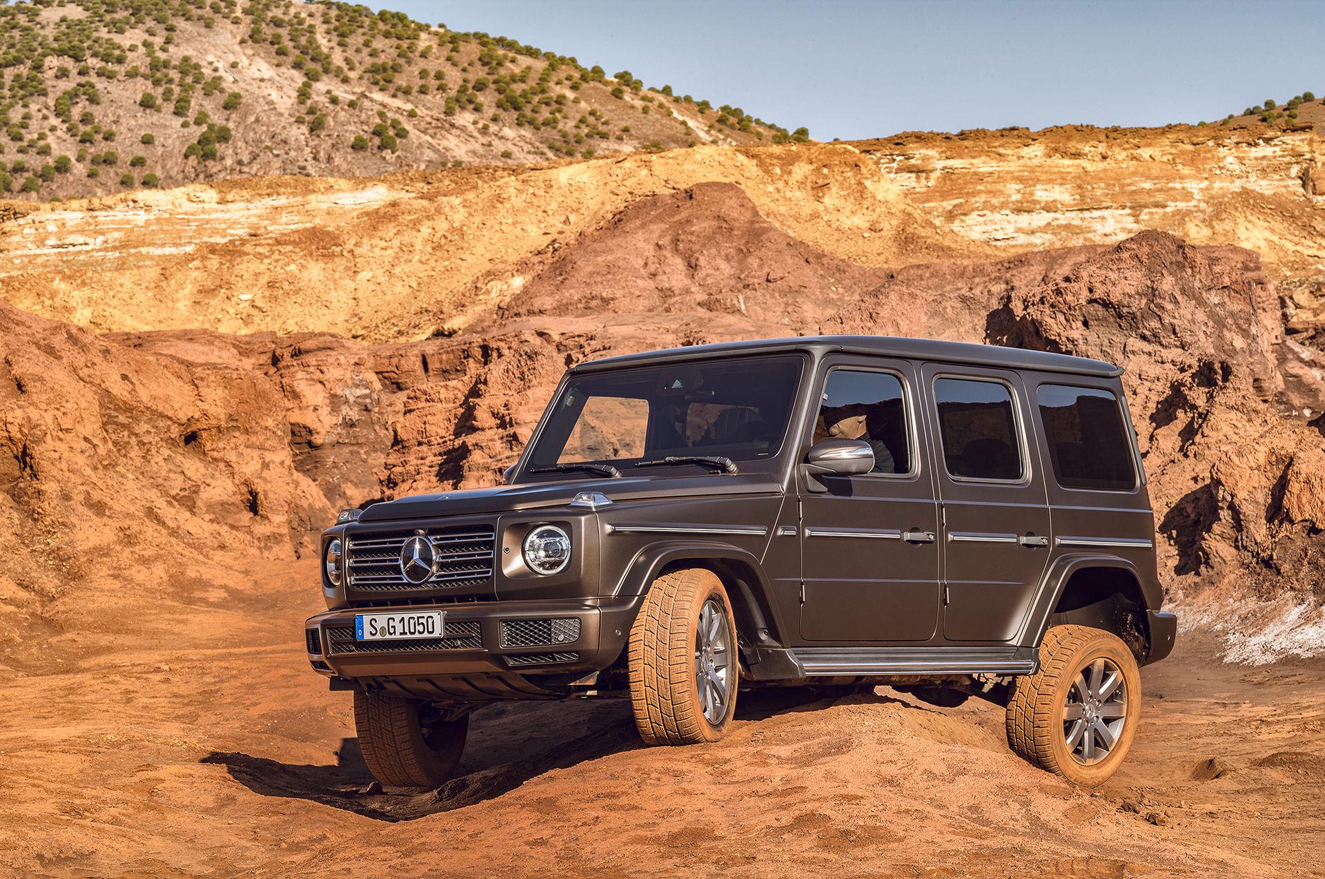 Nya Mercedes G-Klass blir din från 1.099.000 kronor