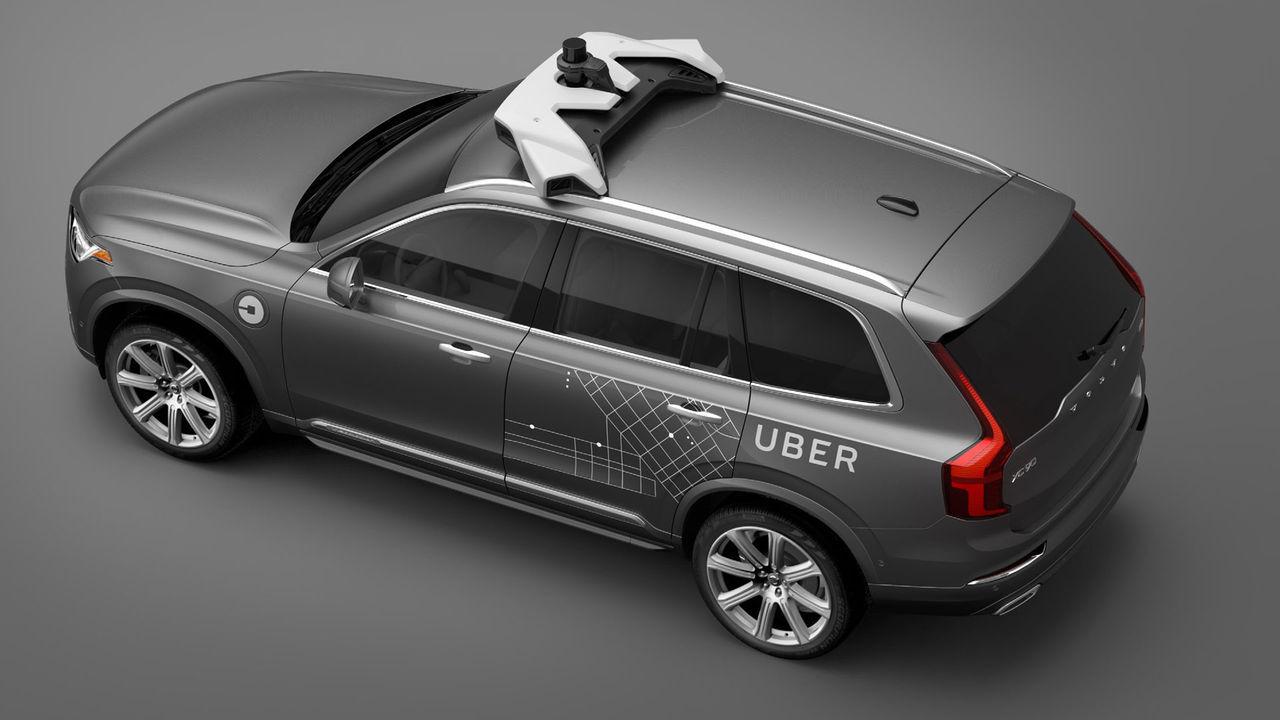 Inte Volvos teknik för självkörande bilar i Uber-bil