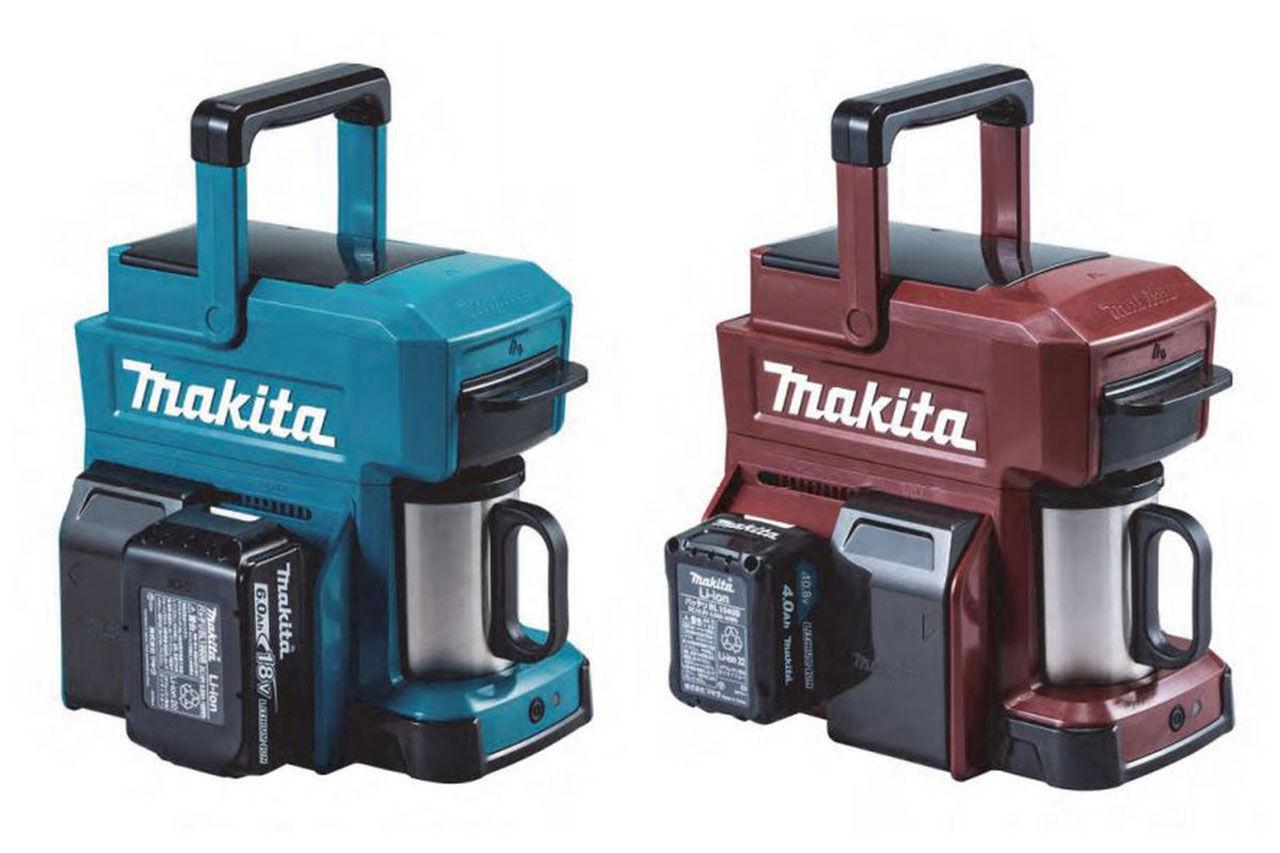 Makita visar ny kaffebryggare