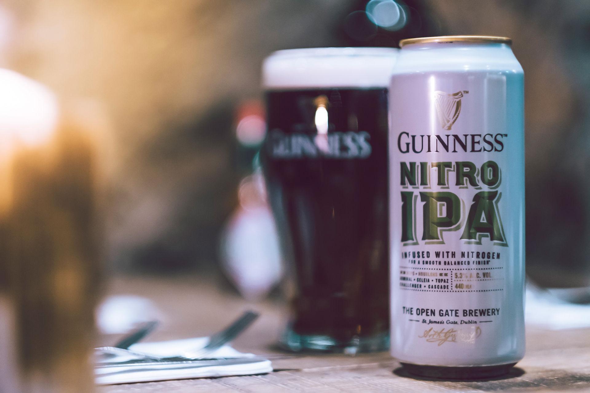 Guinness lanserar sin första IPA