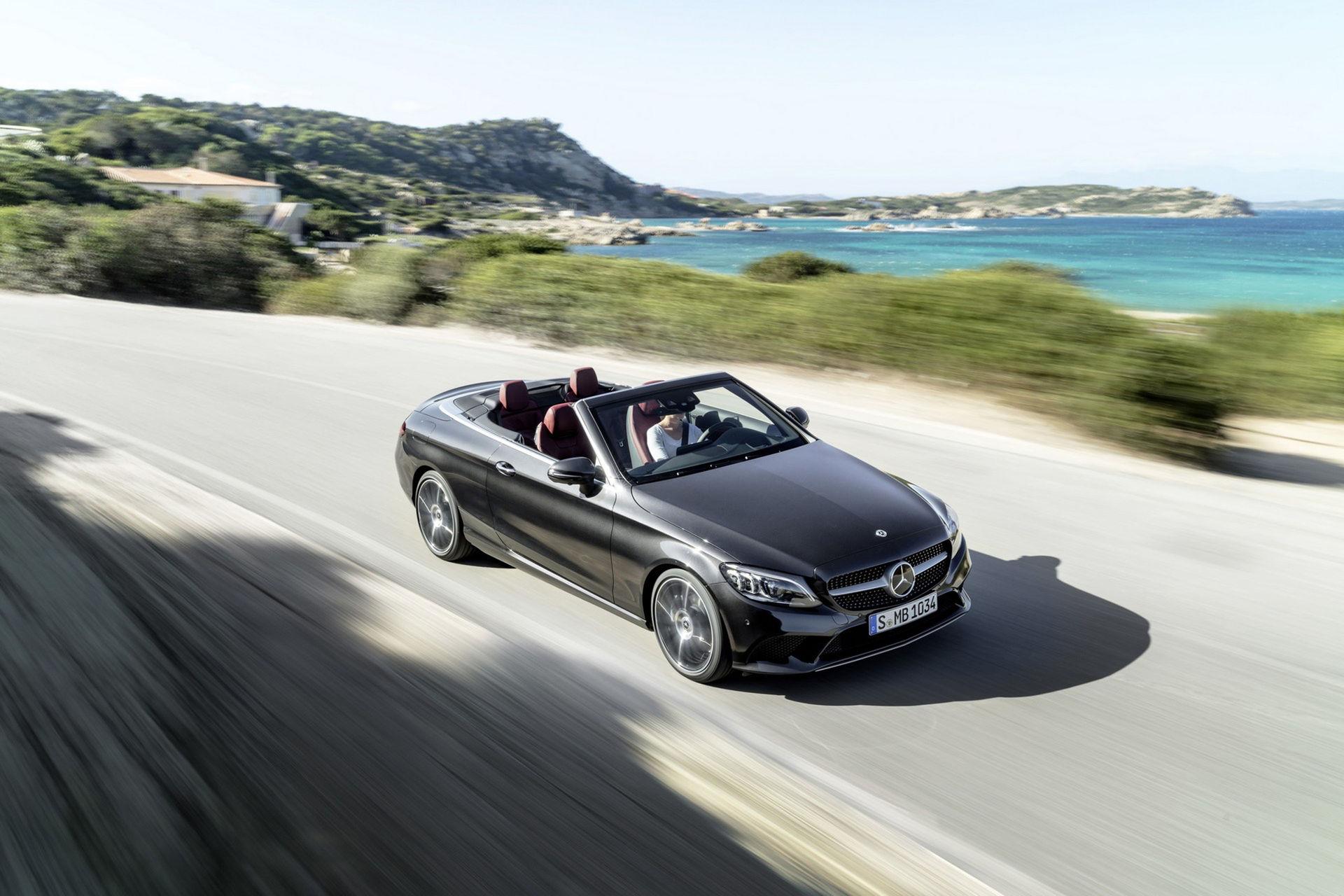 Mercedes lyfter även C-Klass Coupé och Cabriolet