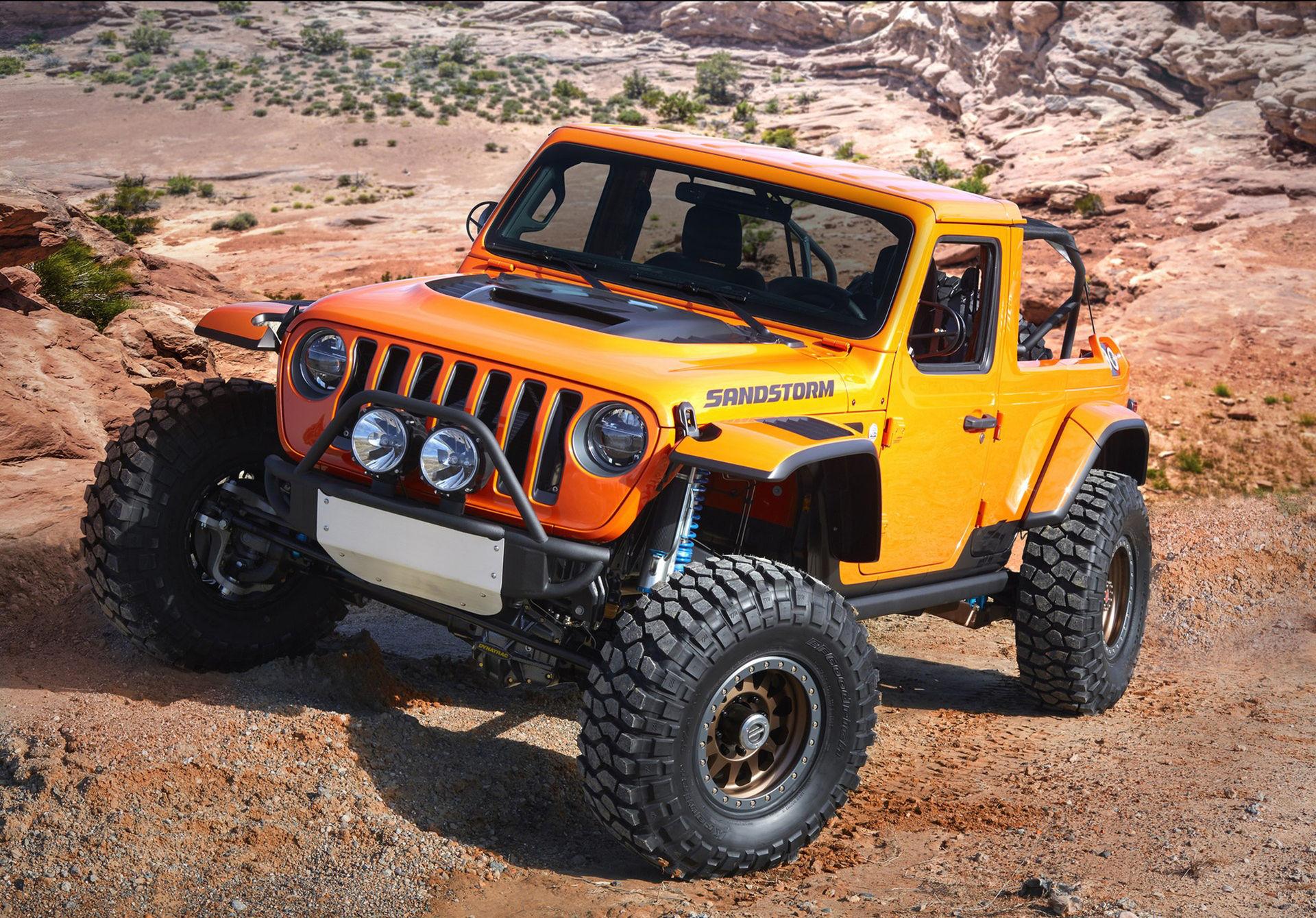 Jeep visar sju stycken koncept