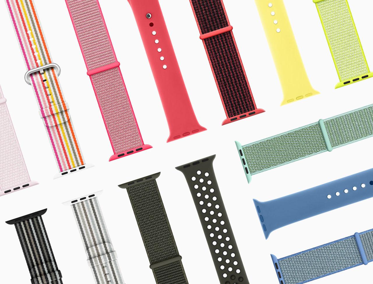 Apple släpper lite vårfärger på sina armband