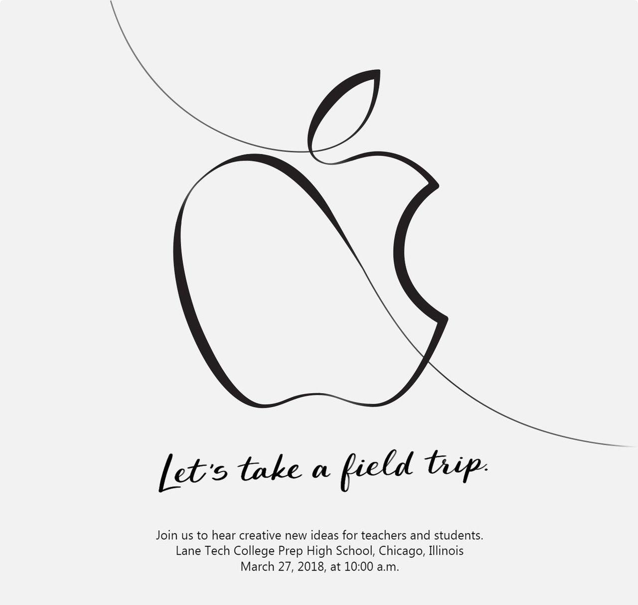 Apple håller event om utbildning på tisdag