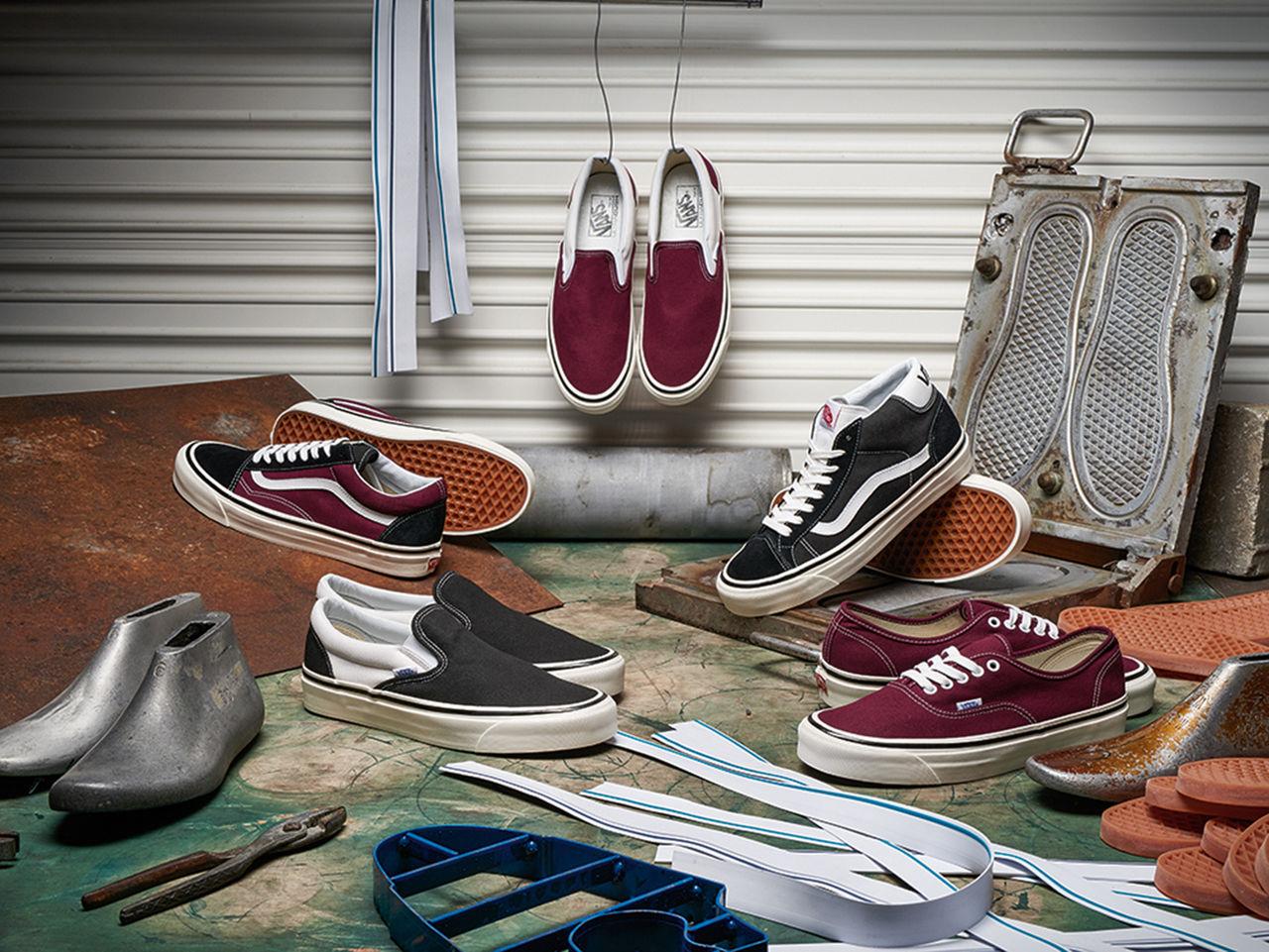 Vans återlanserar fyra ikoniska skomodeller