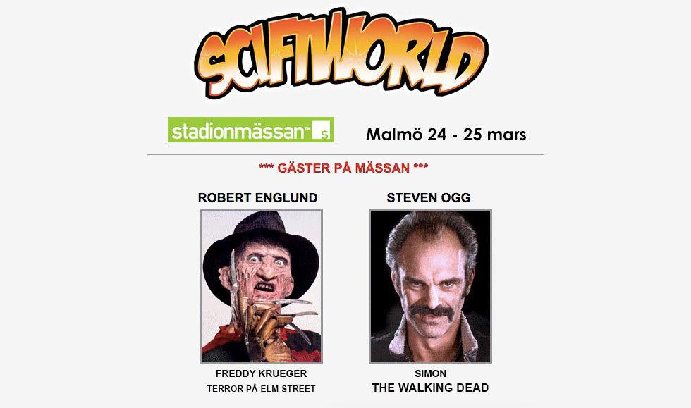 SciFiWorld kommer till Malmö till helgen