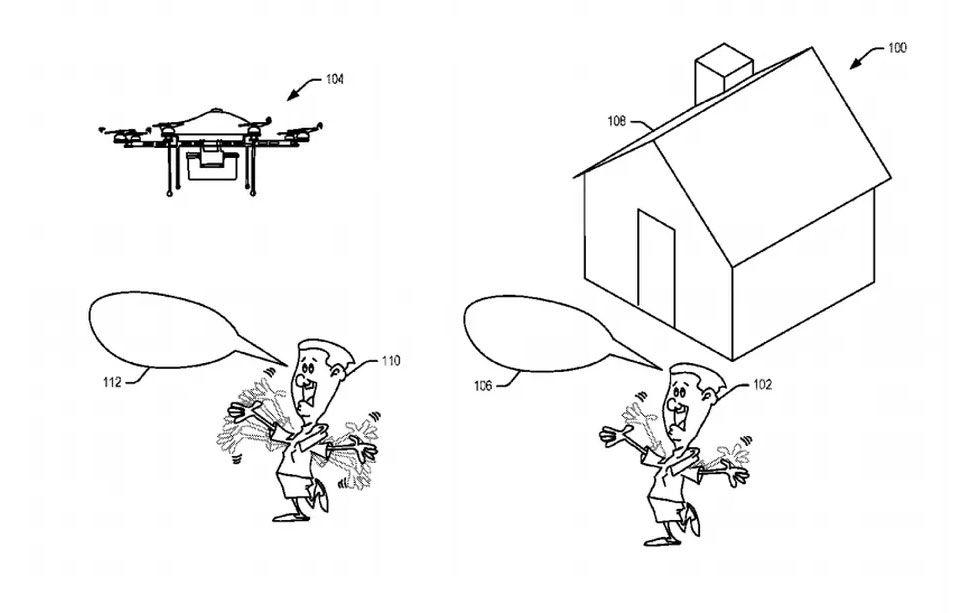Nytt patent på drönarkoncept från Amazon
