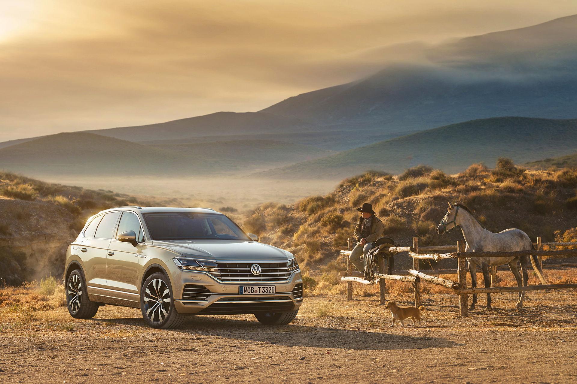 Volkswagen presenterar nya Touareg