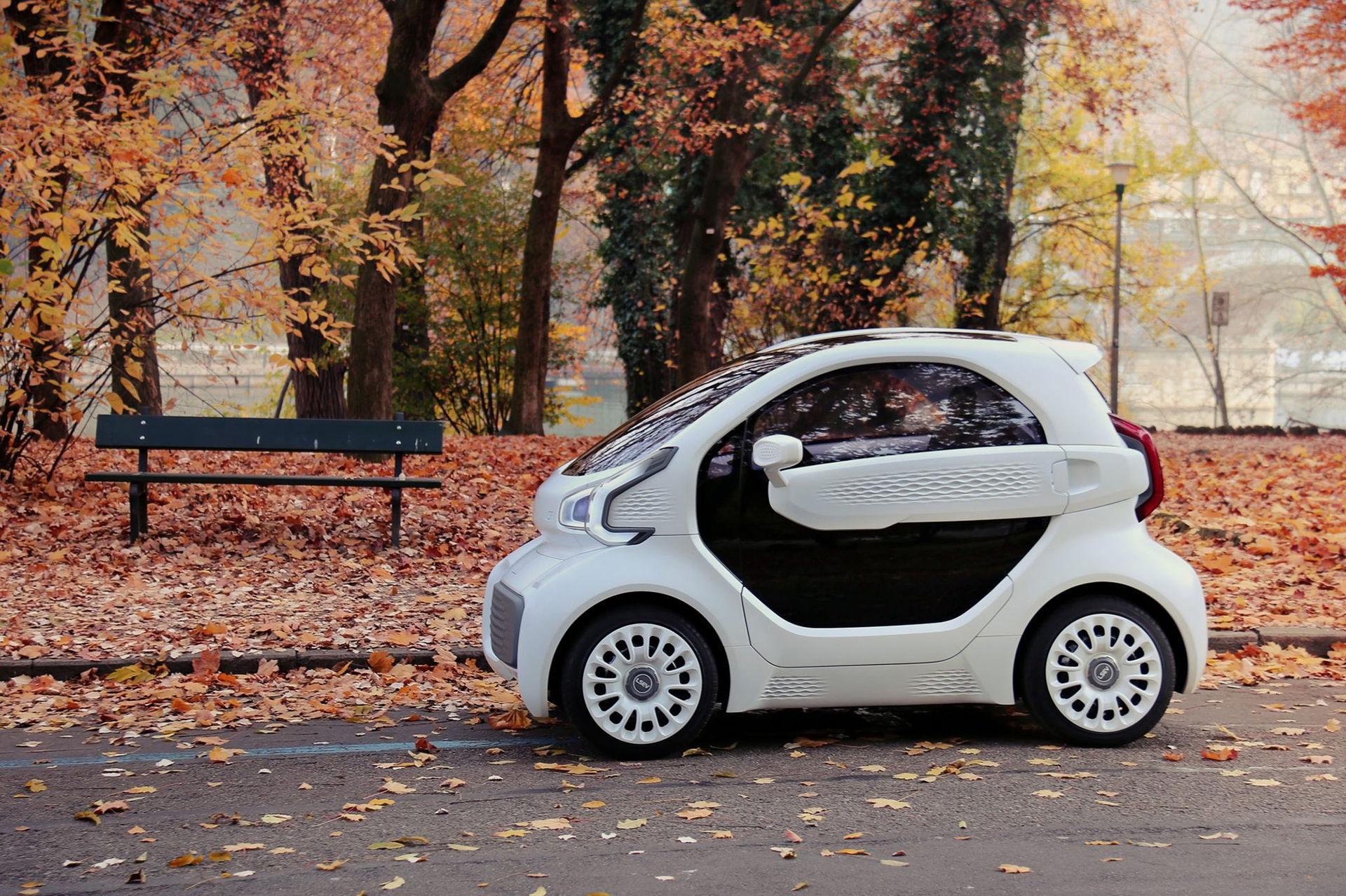 LSEV - den första 3D-utskrivna bilen till försäljning