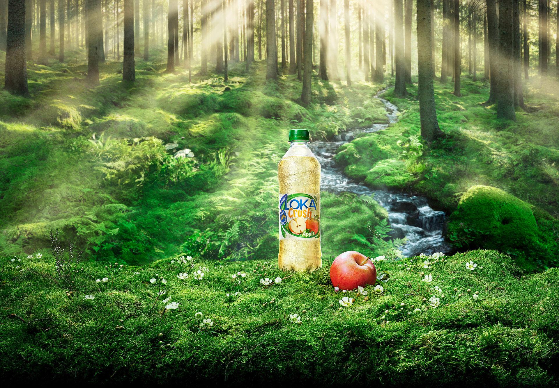 Nu kommer Loka Crush med äpple-smak