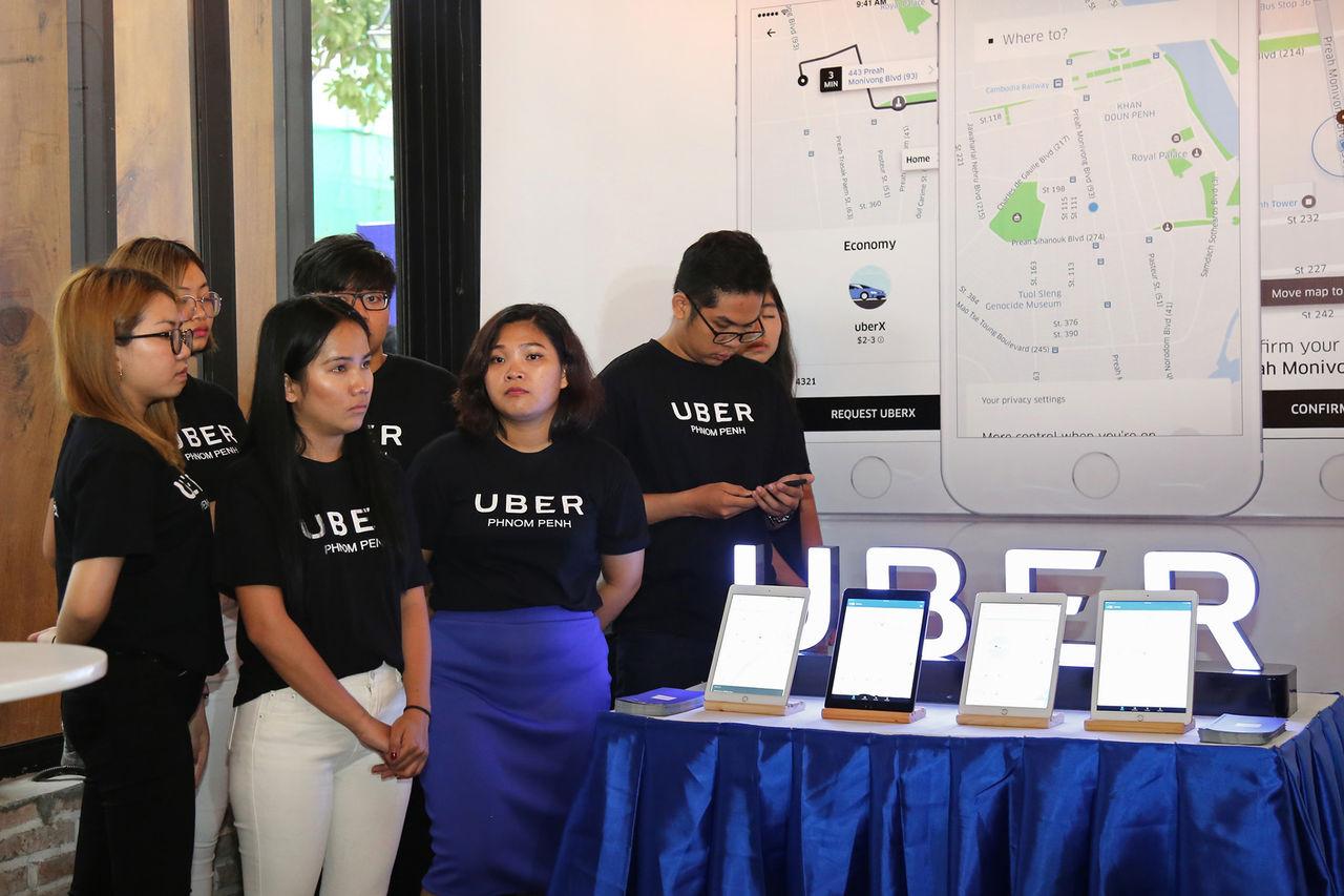 Uber säljer sin verksamhet i Sydostasien till Grab