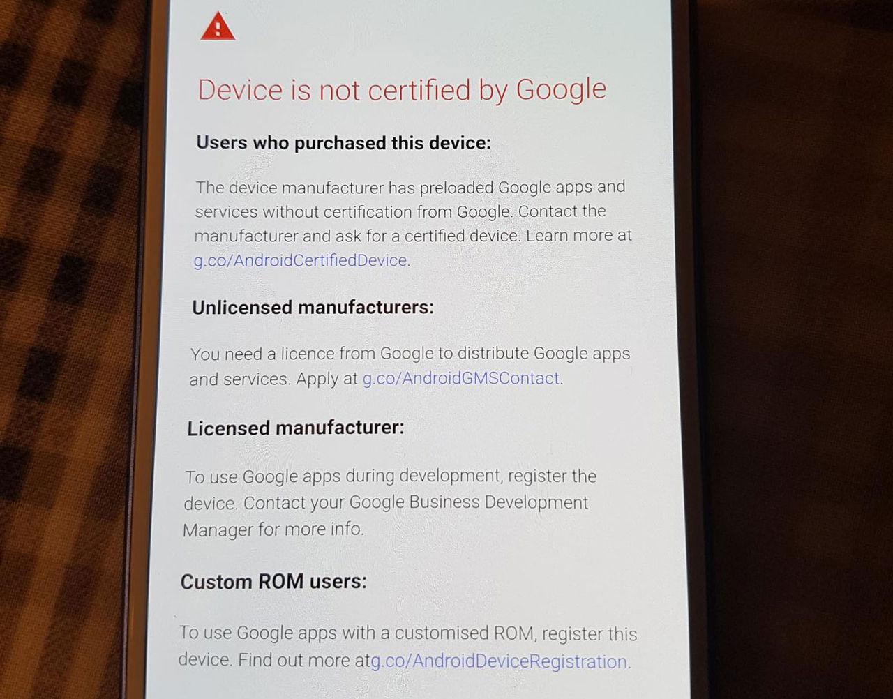 Google stänger ute Androider utan certifikat från sina appar