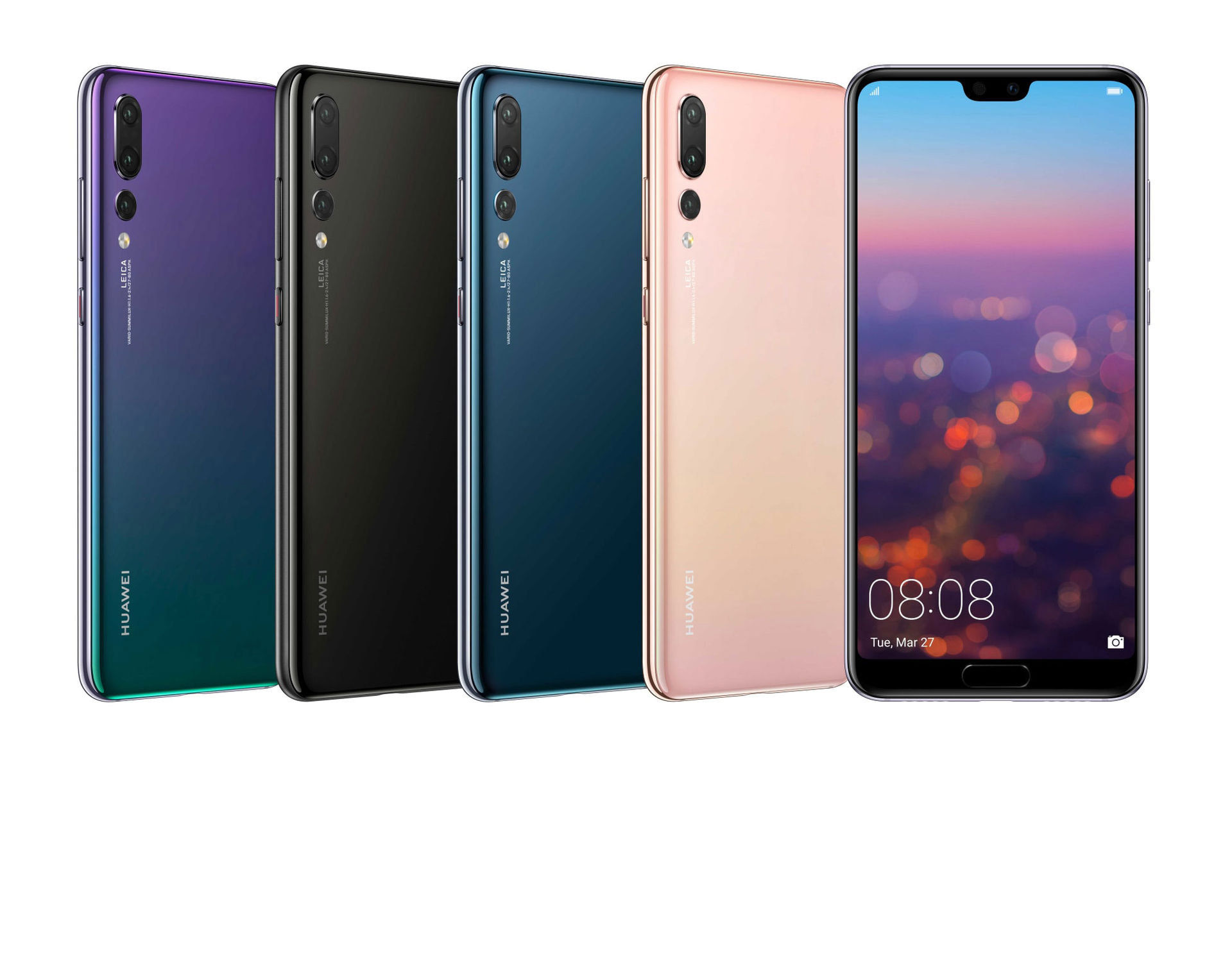 Här är äntligen Huawei P20 och P20 Pro