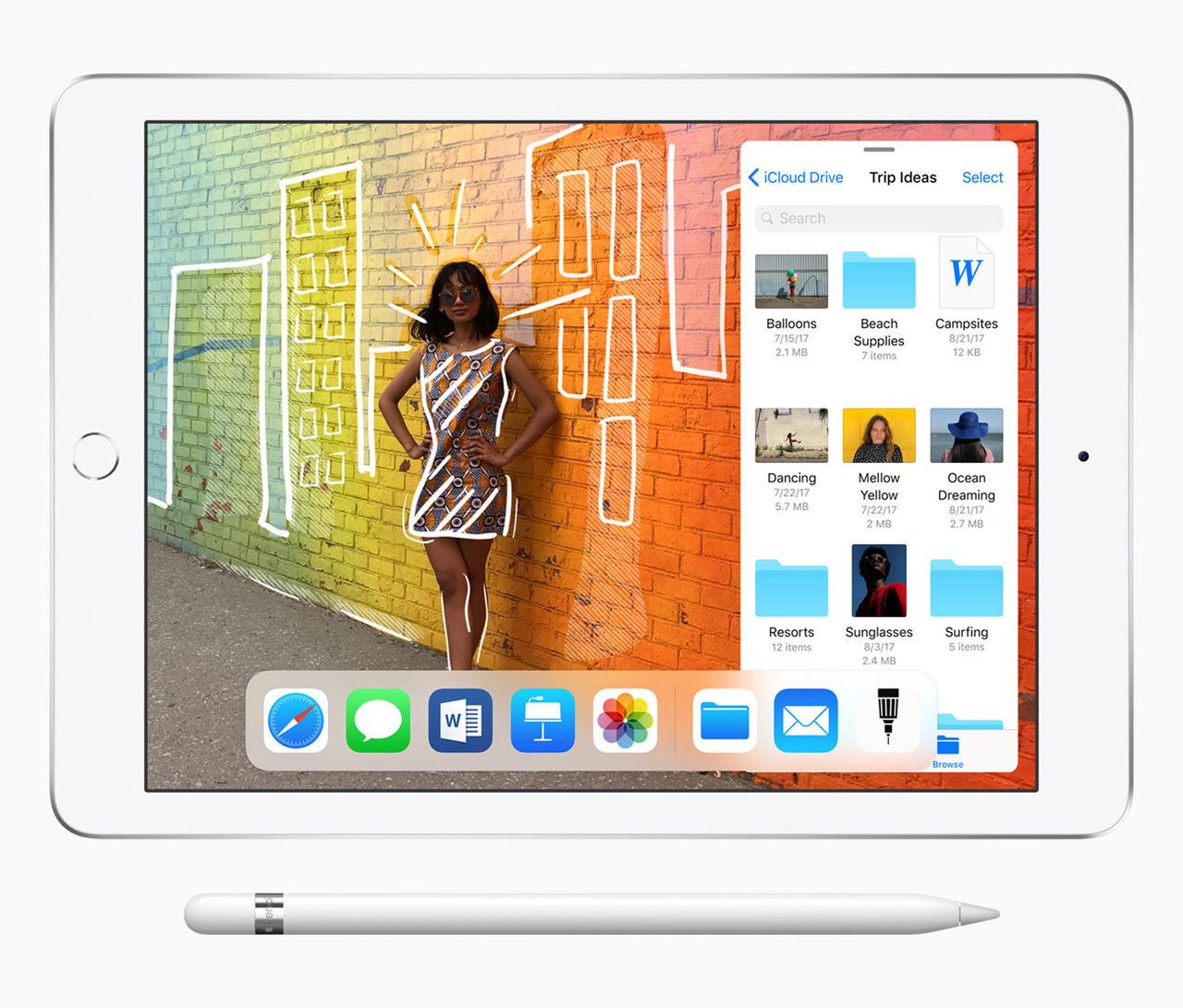 Apple släpper ny iPad med stöd för penna