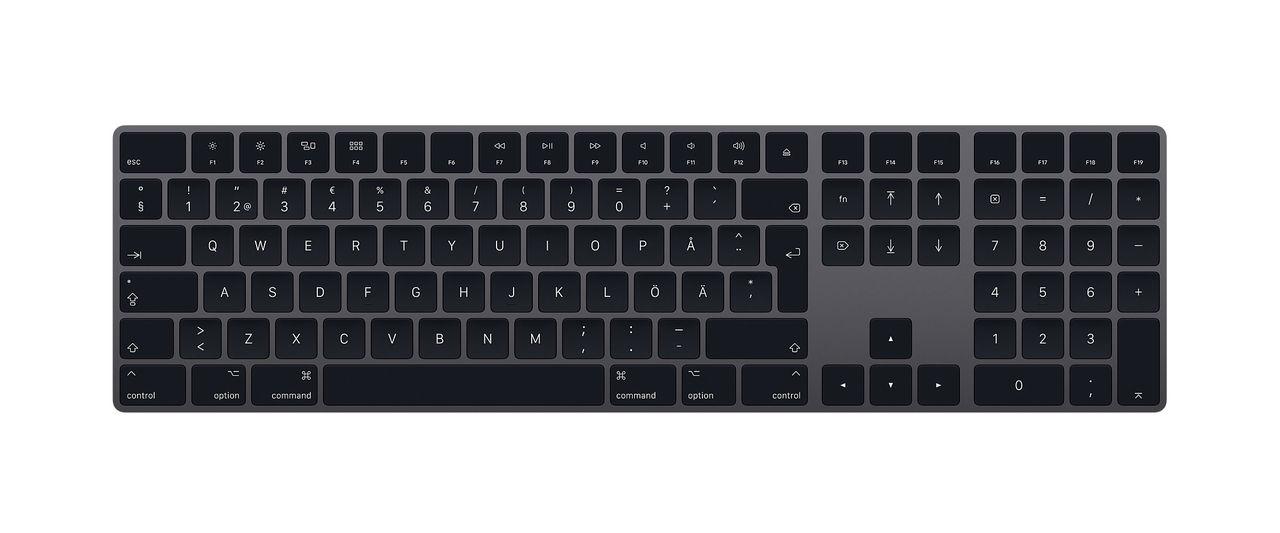 Nu kan alla köpa rymdgrått tangentbord och styrplatta