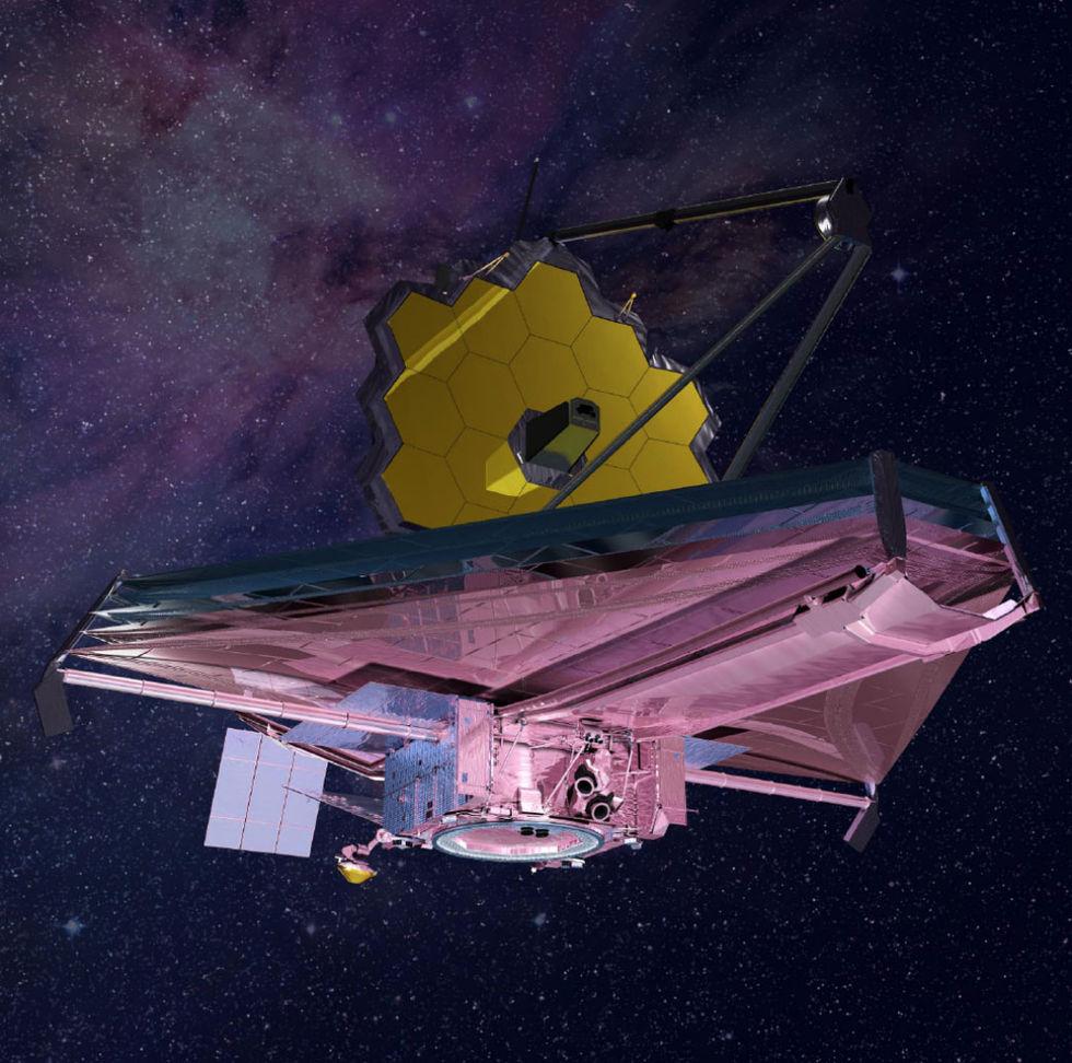 James Webb-teleskopet försenas med minst ett år
