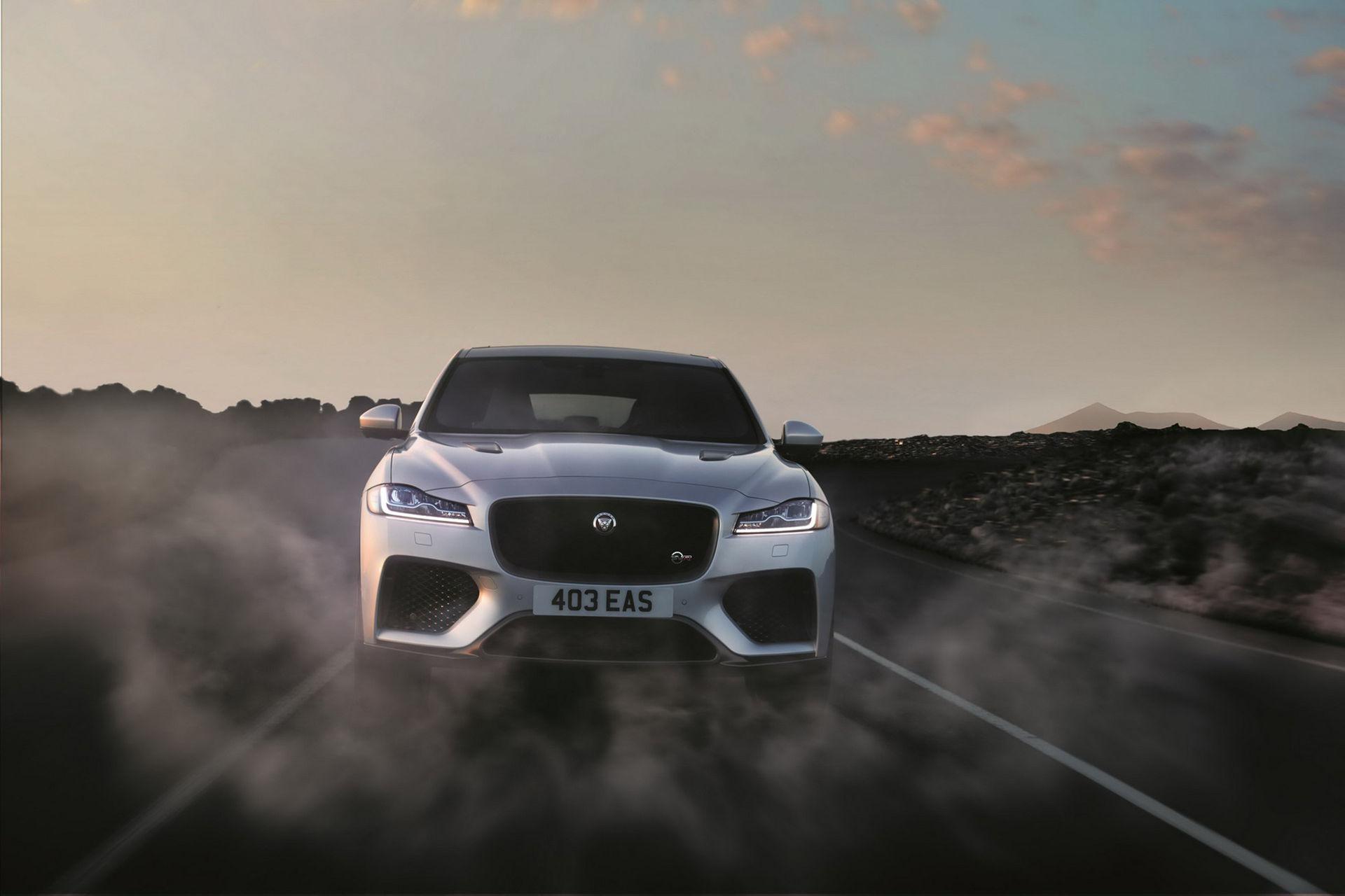 Jaguar F-Pace får SVR-behandling