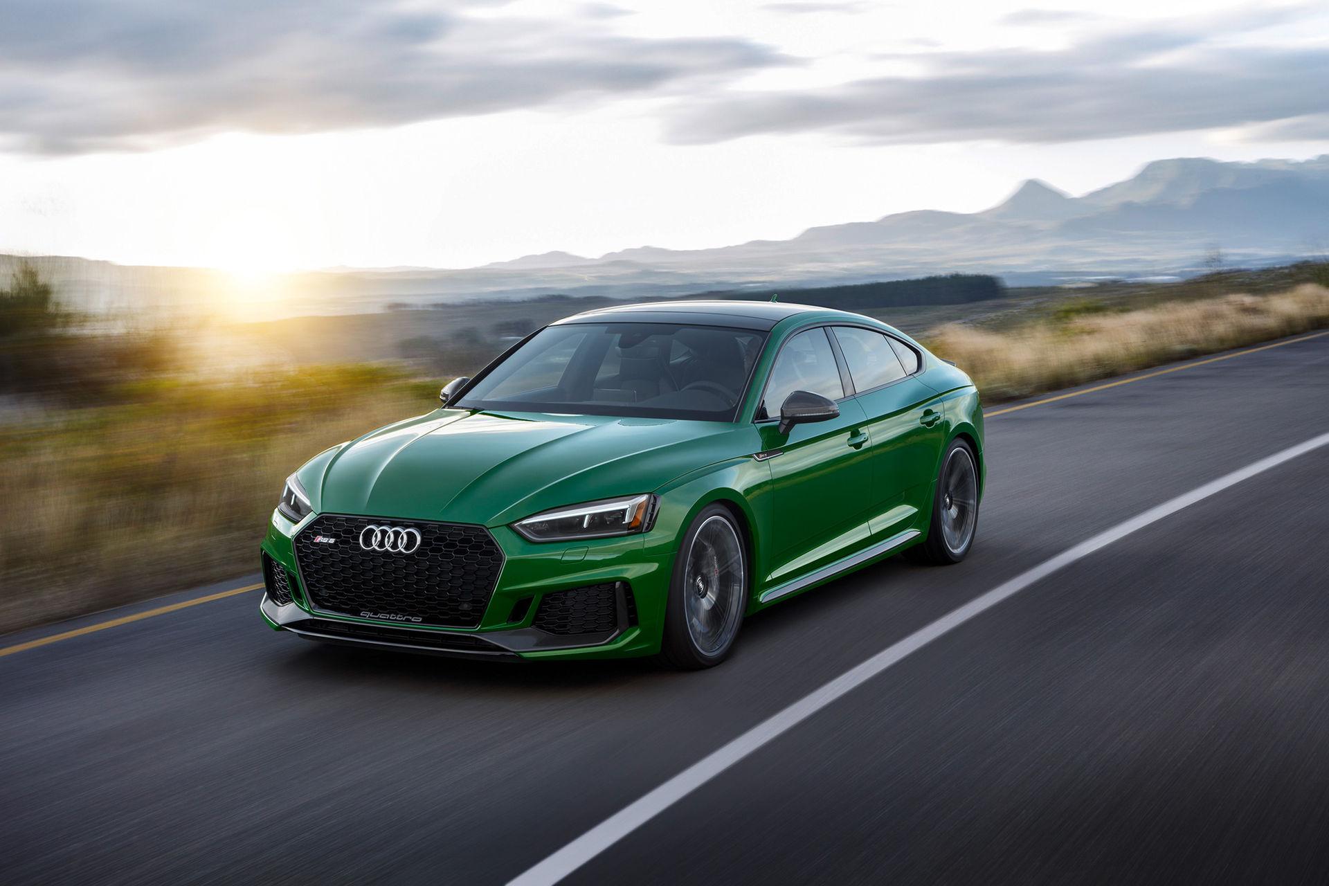 Audi rullar ut RS 5 Sportback