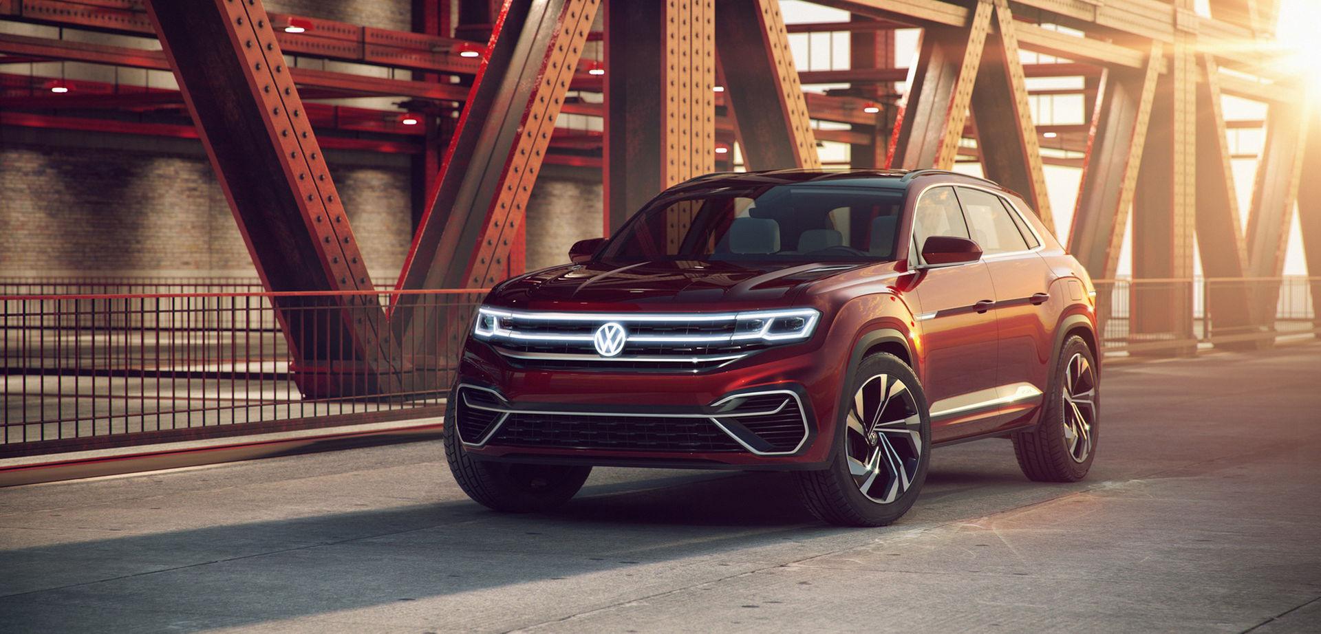 Volkswagen visar Atlas Cross Sport Concept