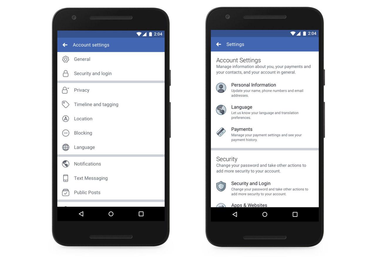 Facebook uppdaterar inställningar kring integritet