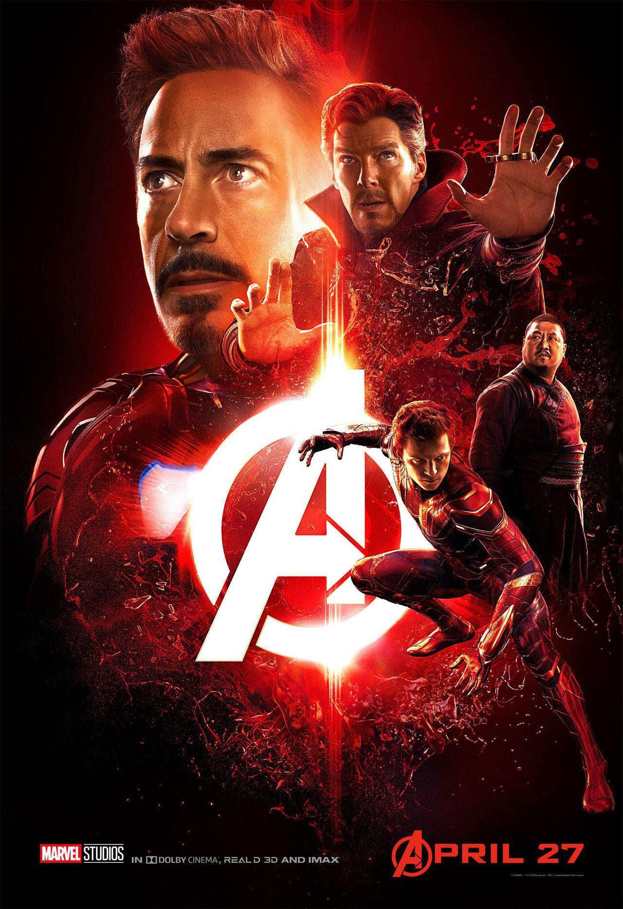 Lite posters för Avengers: Infinity War