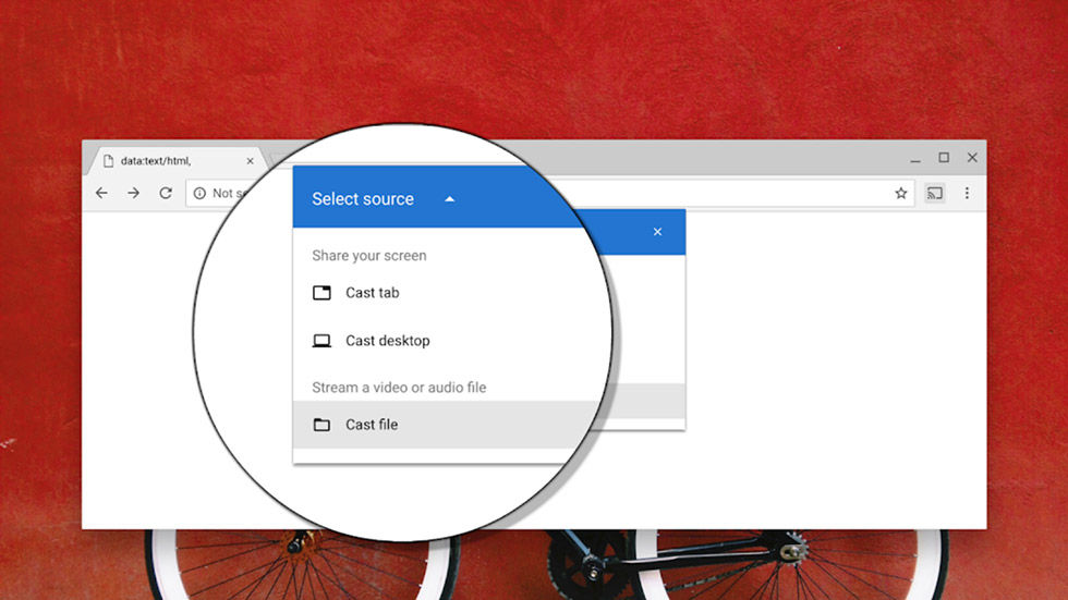Enklare att streama video från datorn med Chrome