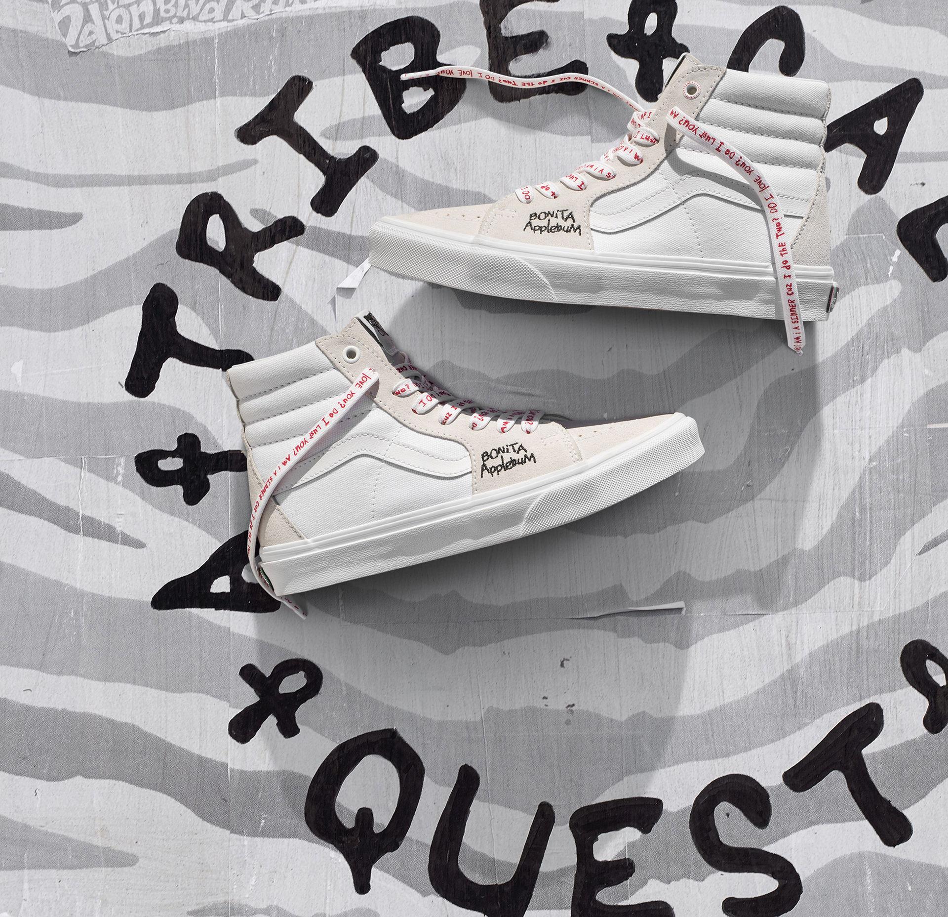 Vans och A Tribe Called Quest gör skor