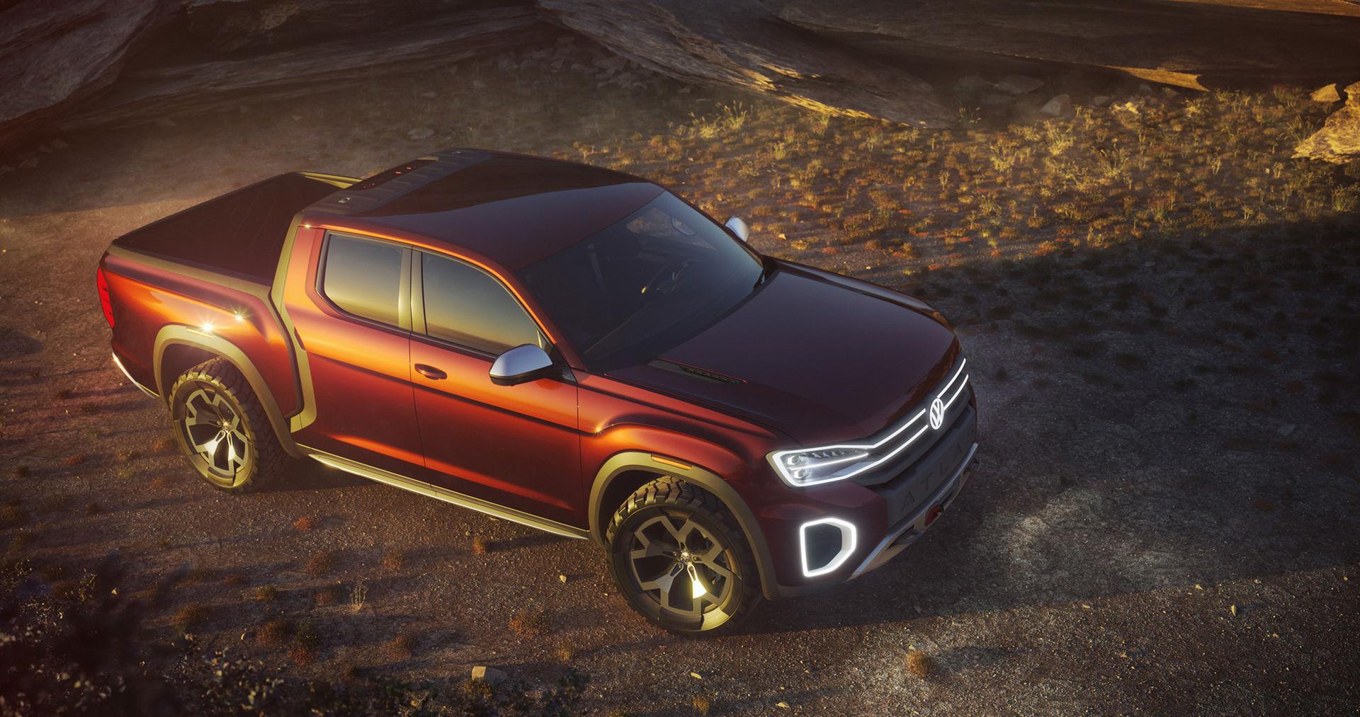 Volkswagen presenterar en bitigare pickis