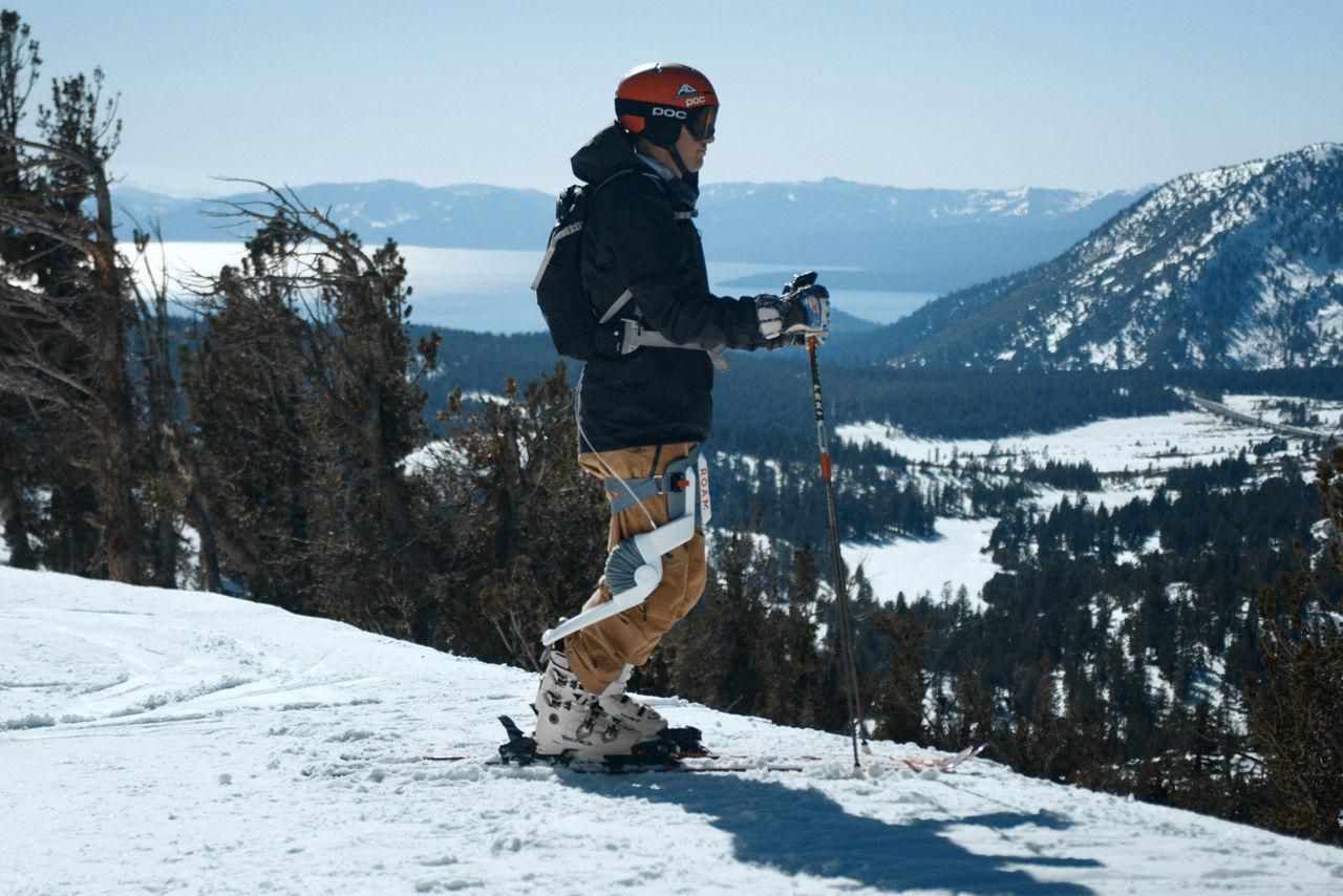 Nu finns det exoskelett för slalomåkare