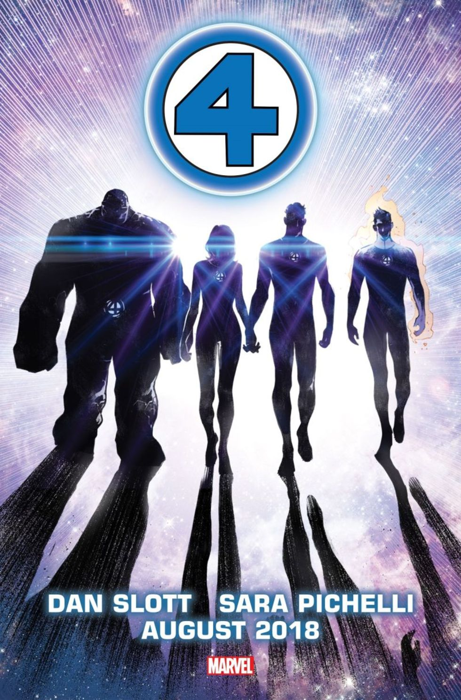 Fantastic Four återförenas i ny Marvel-tidning