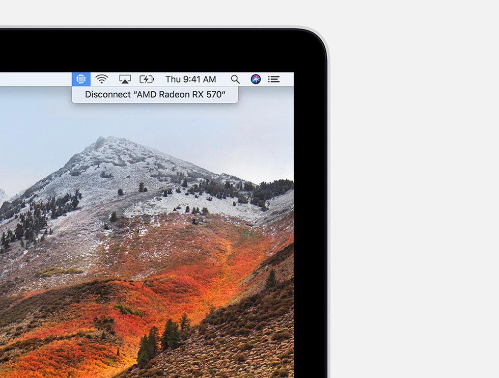 macOS får stöd för externa grafikkort