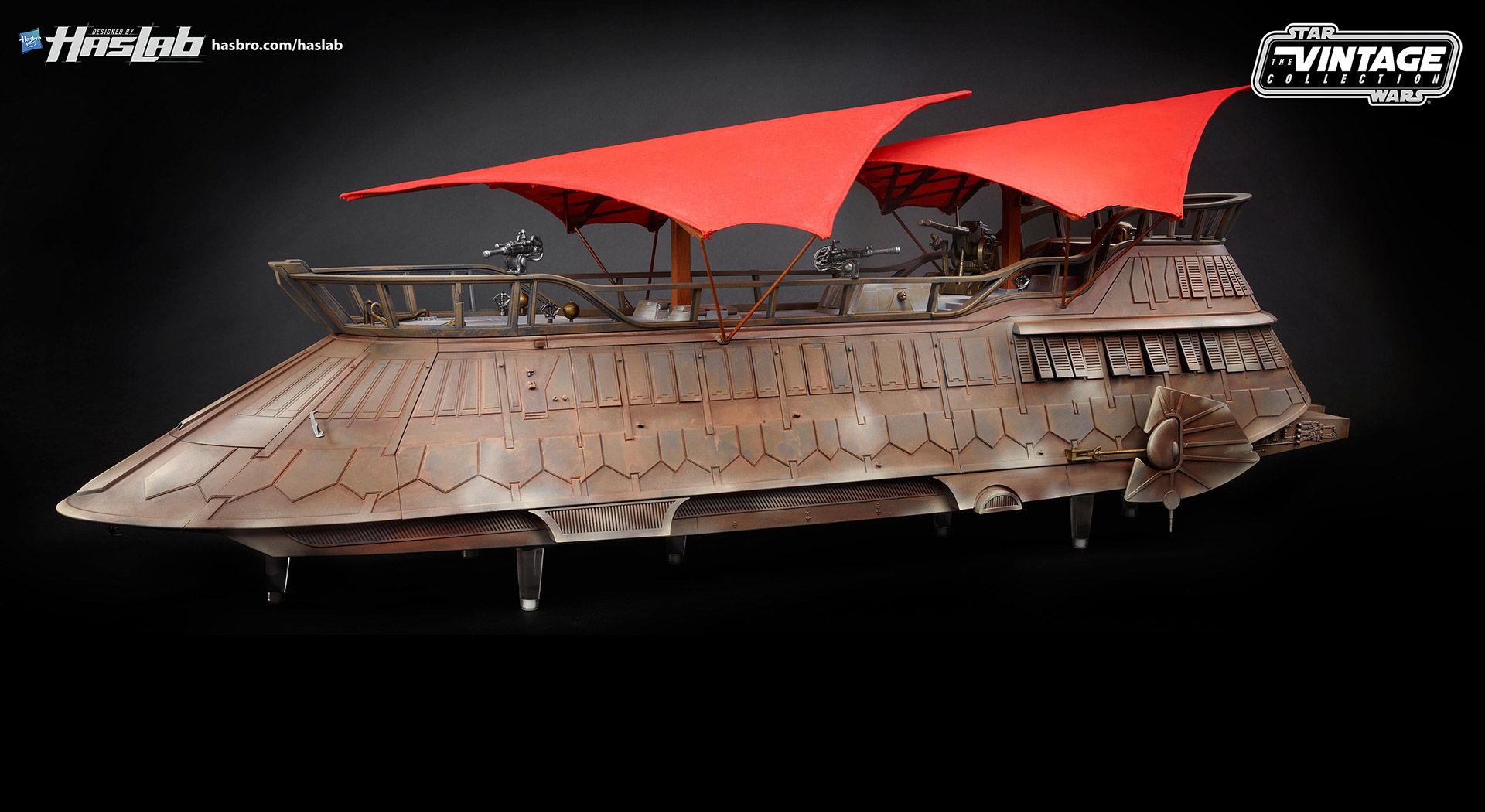 Jabba the Huts skepp kommer som byggsats
