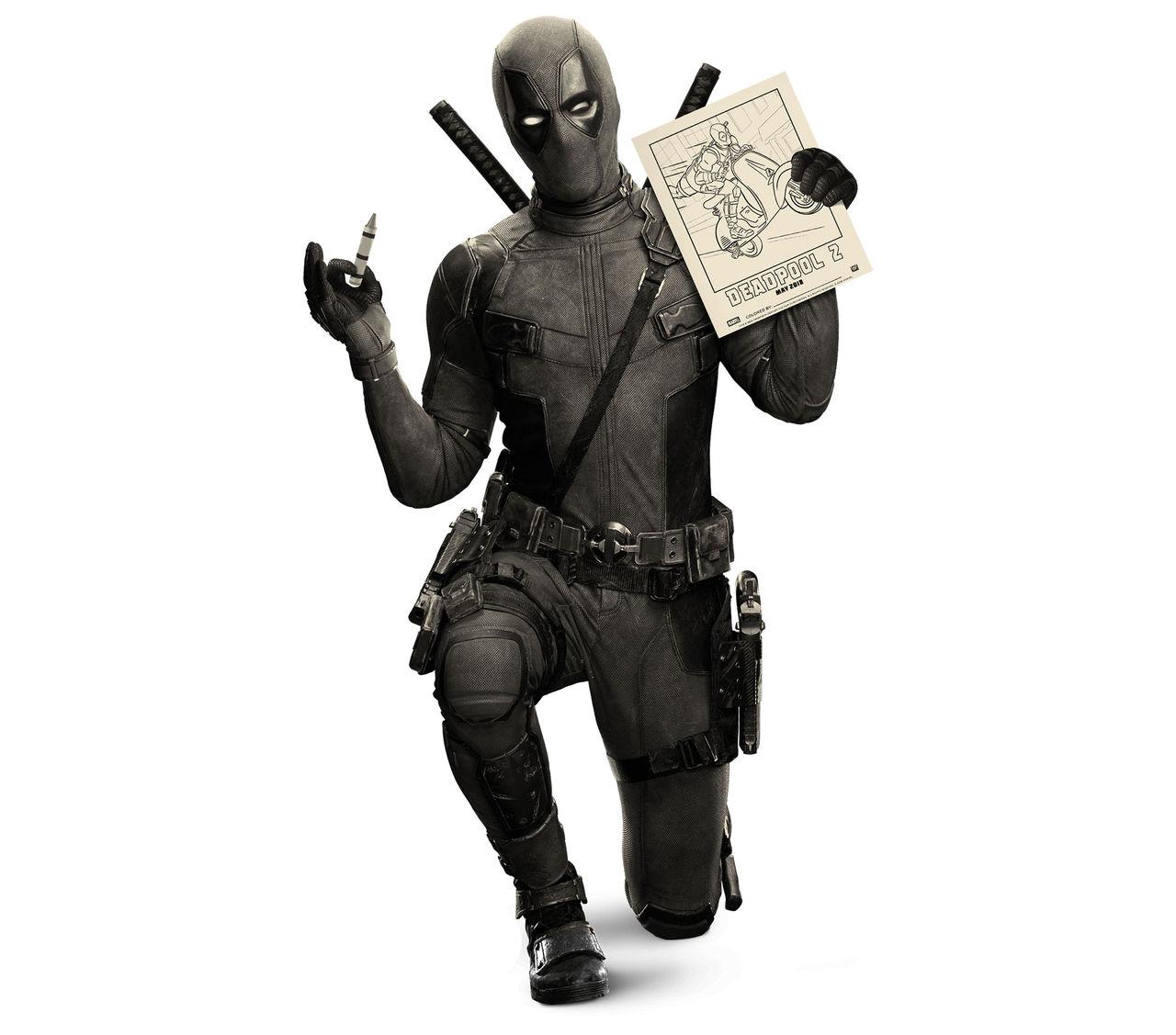 Måla lite med Deadpool