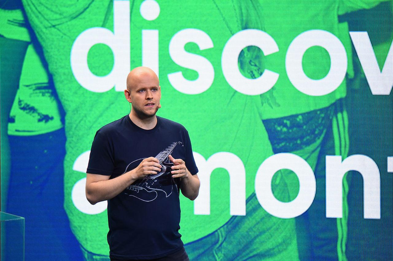 Idag börsnoteras Spotify