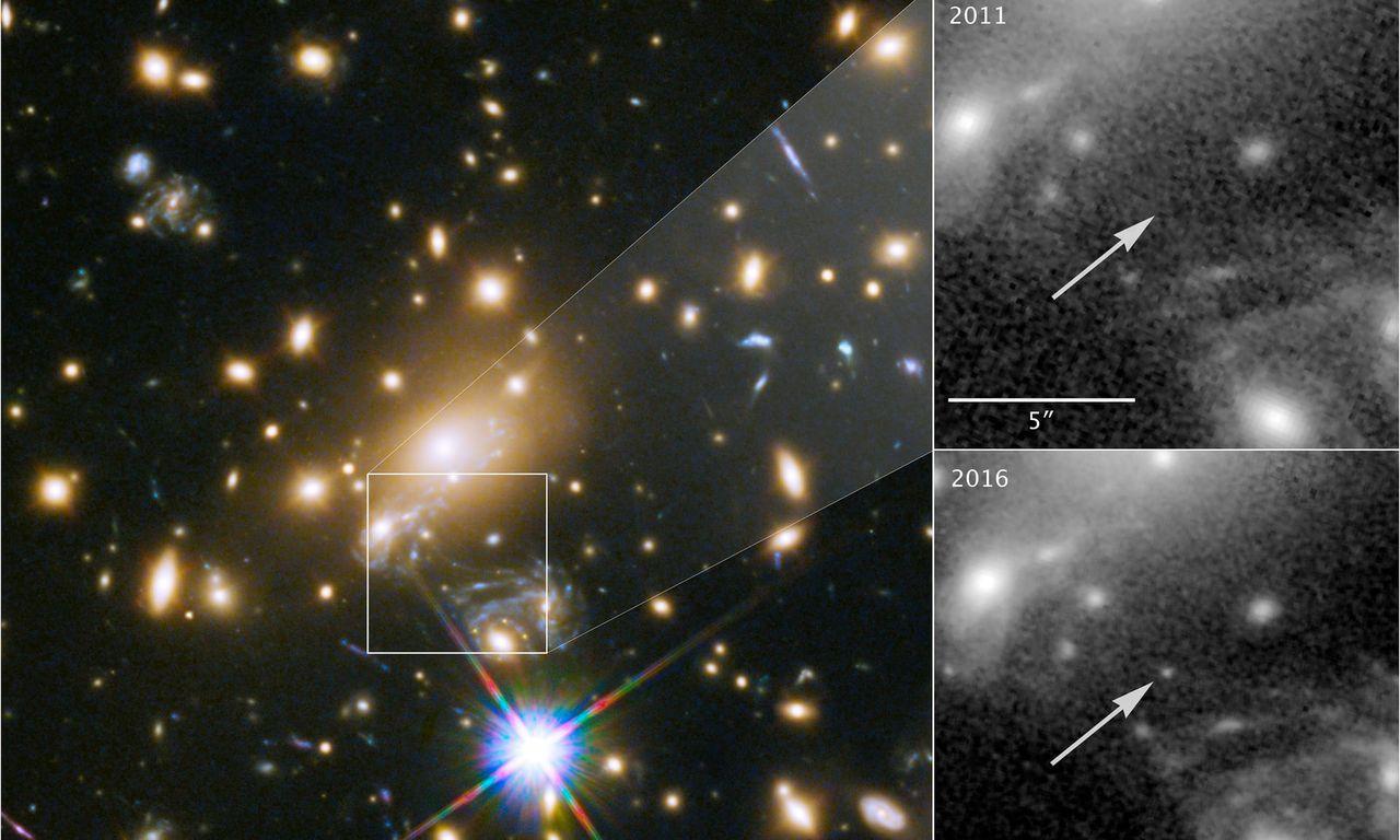Hubble hittar mest avlägsna stjärnan hittills