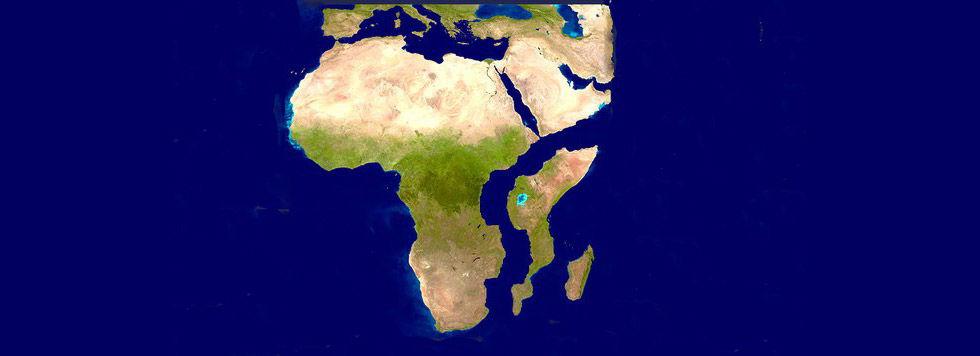 Afrika håller på att spricka