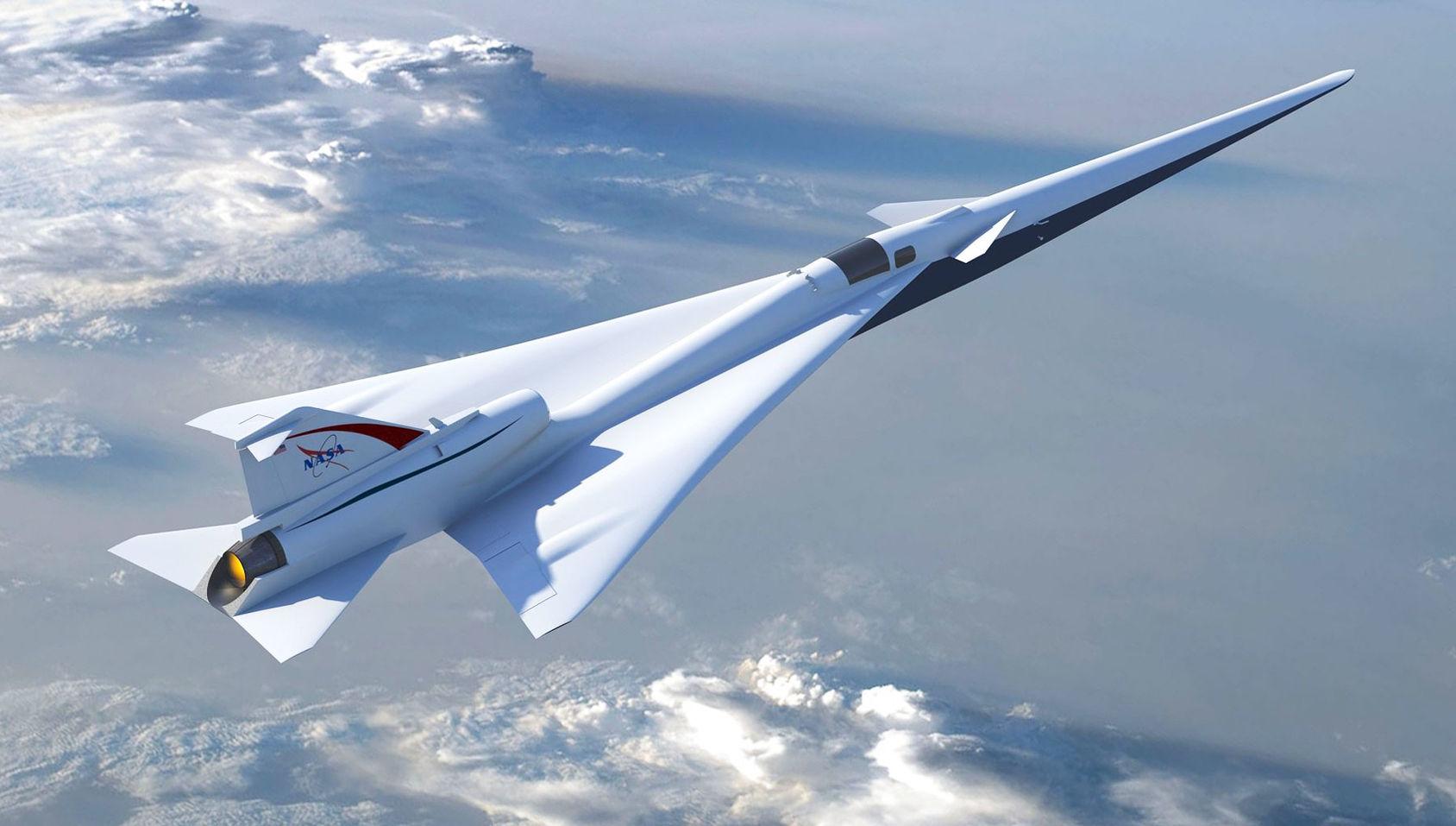 Lockheed Martin ska bygga NASA:s tysta överljudsplan