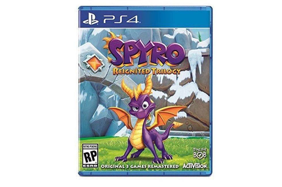 Spyro Reignited Trilogy dyker upp på Amazon