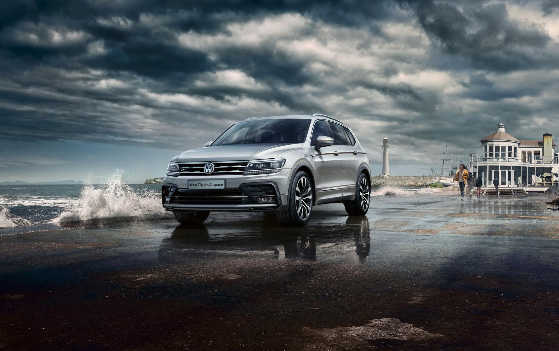 Volkswagen visar T-Roc och Tiguan Allspace R-Line