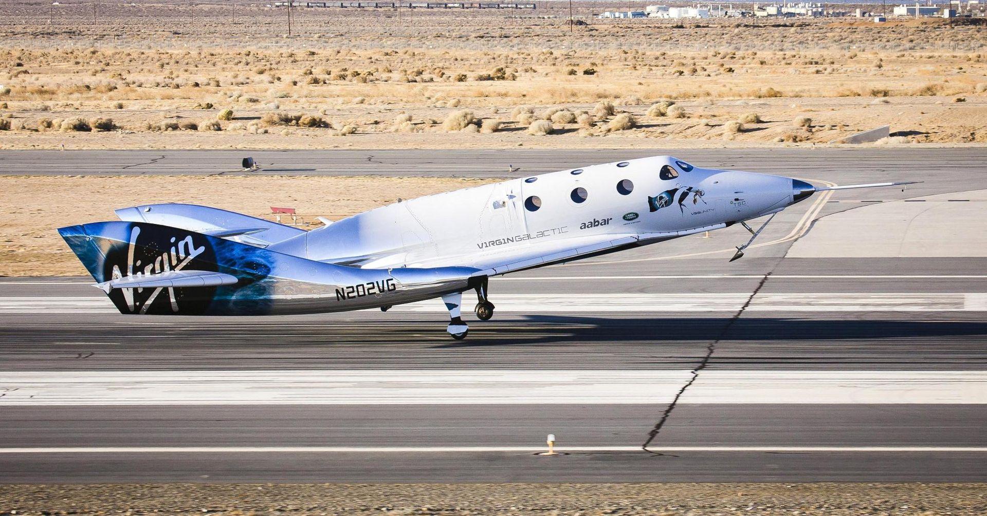 Virgin Galactic har testflugit SpaceShipTwo med motorn igång
