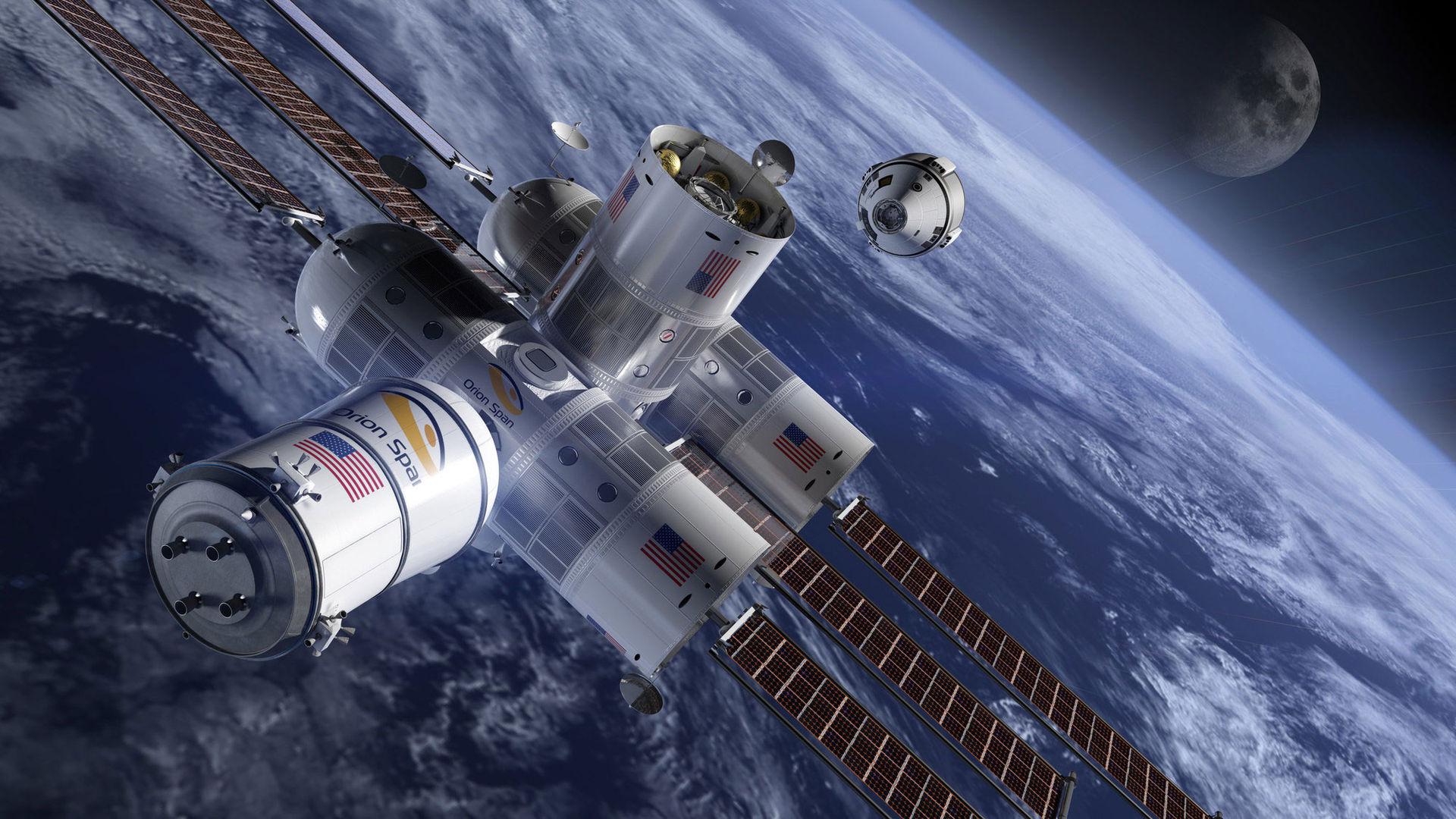 2022 öppnar det här lyxhotellet i rymden