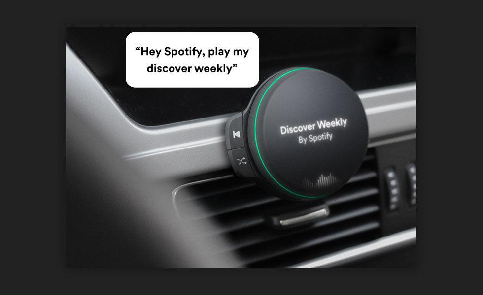 Spotifys första hårdvara kommer 24 april