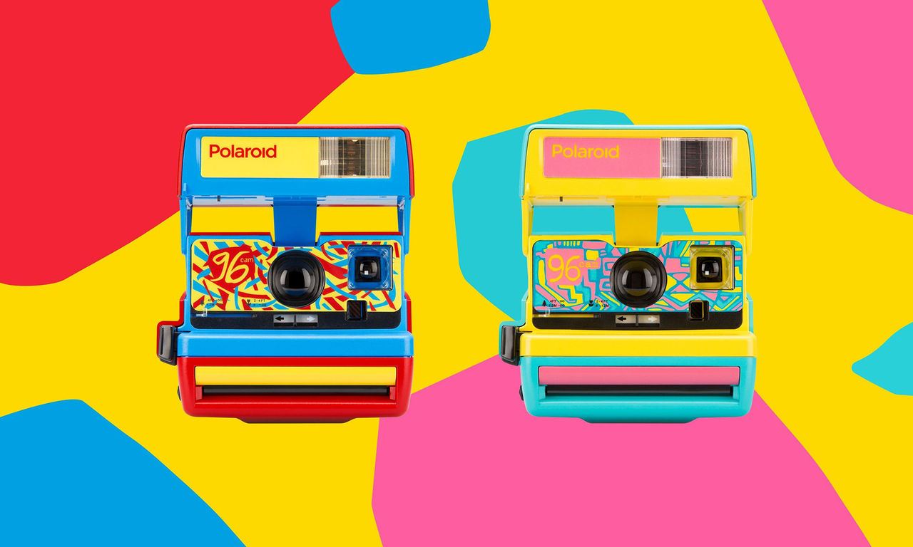 Polaroid släpper sjuka retrokameror