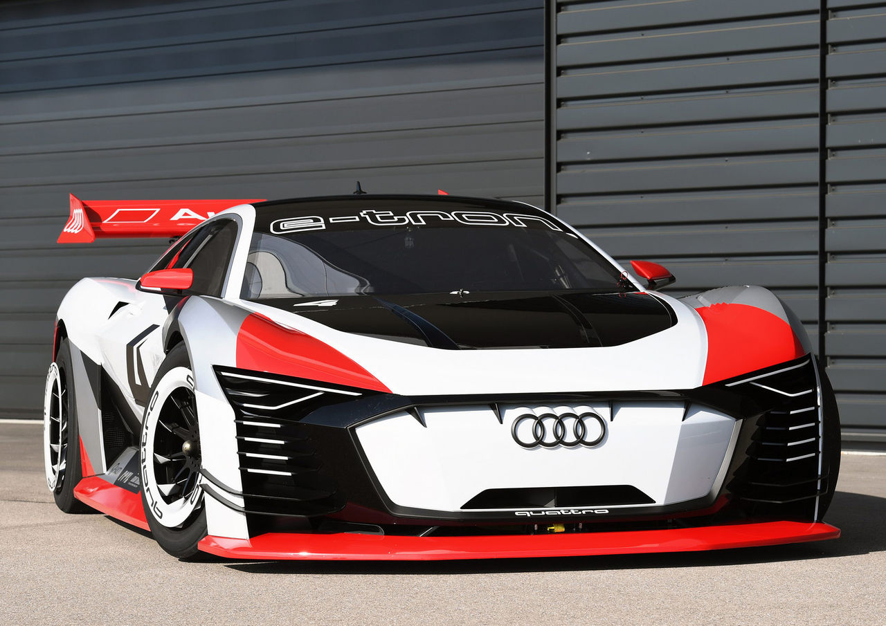 Audi gjorde verklighet av e-tron Vision Gran Turismo