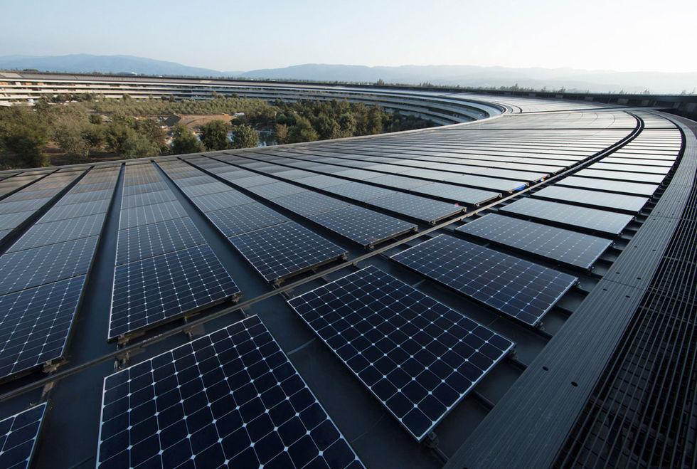 Nu kör även Apple 100 procent förnybar energi