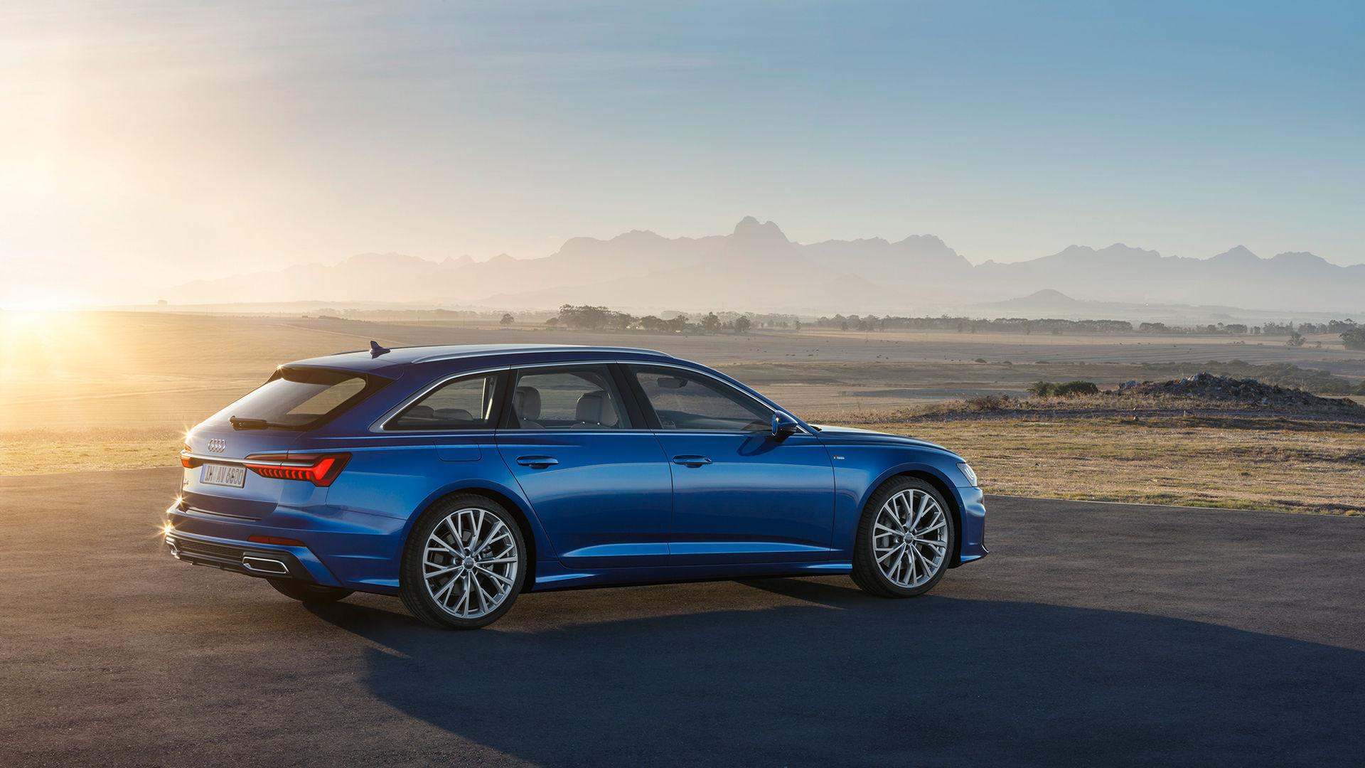 Nu är även nya Audi A6 i kombikostym här