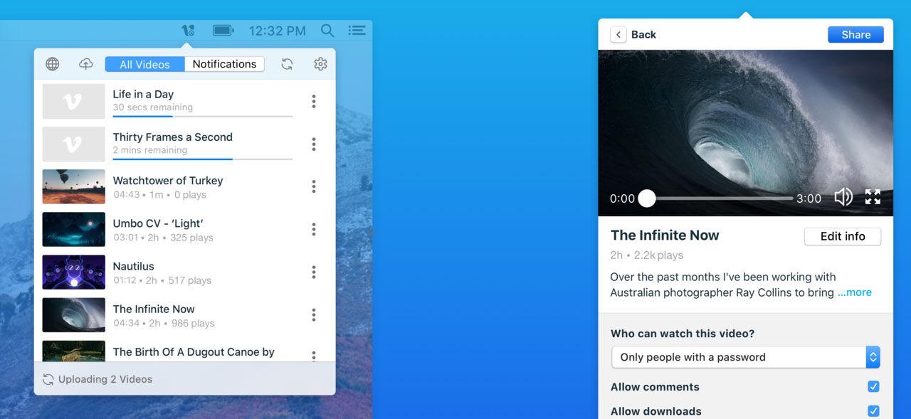Vimeo släpper app för macOS