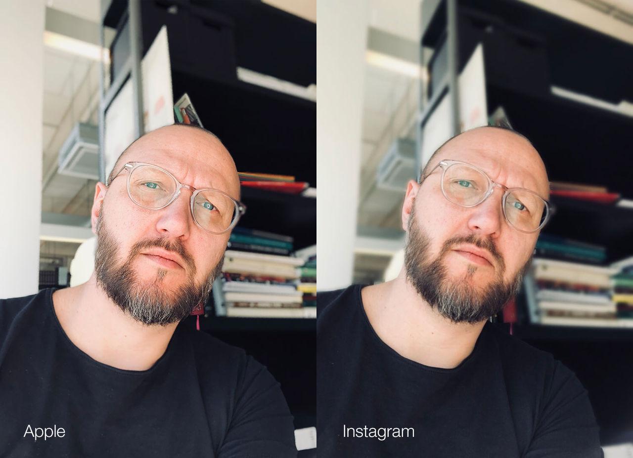 Instagram släpper porträttfunktion