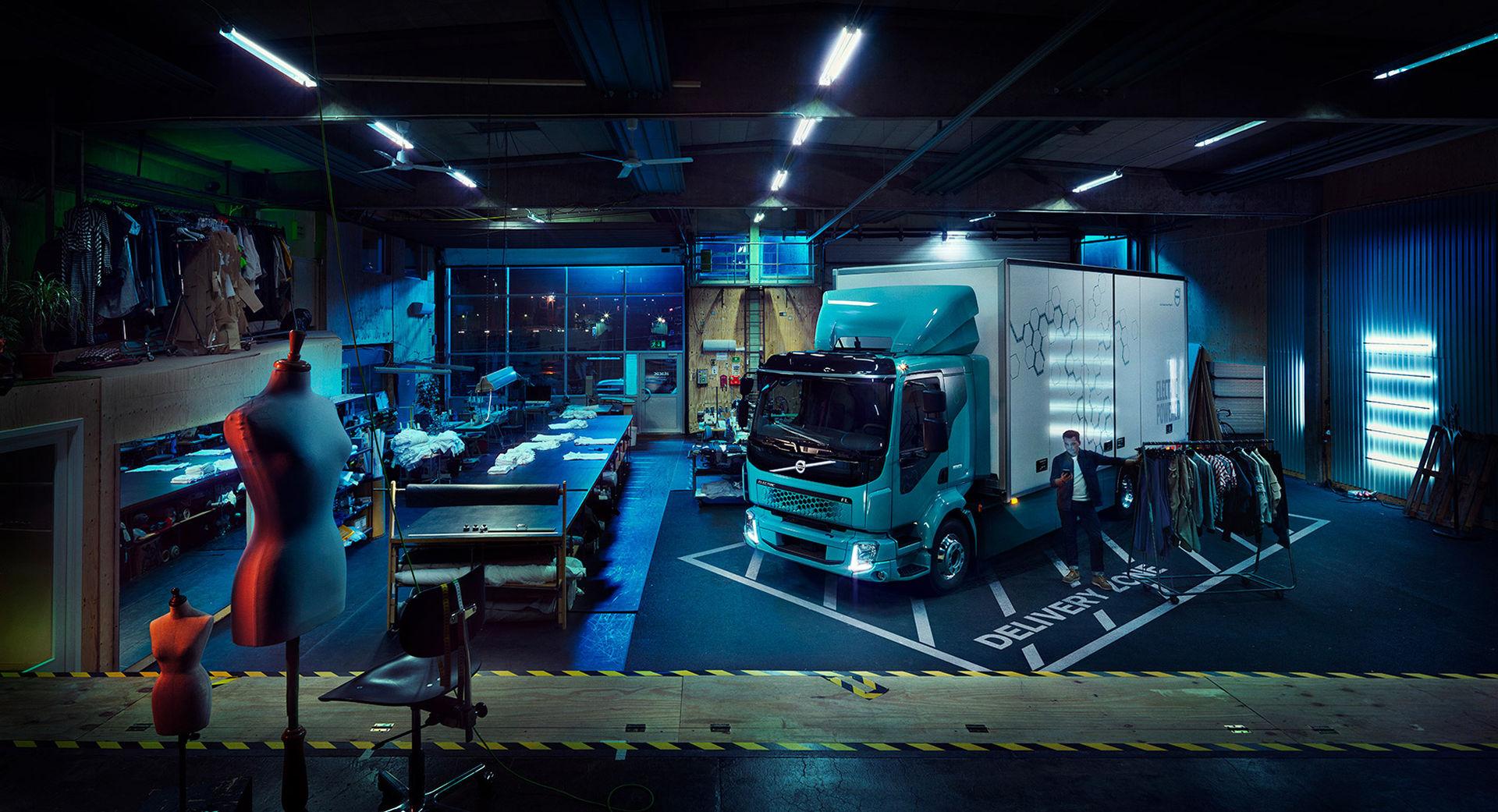 Volvo visar första helt eldrivna lastbilen